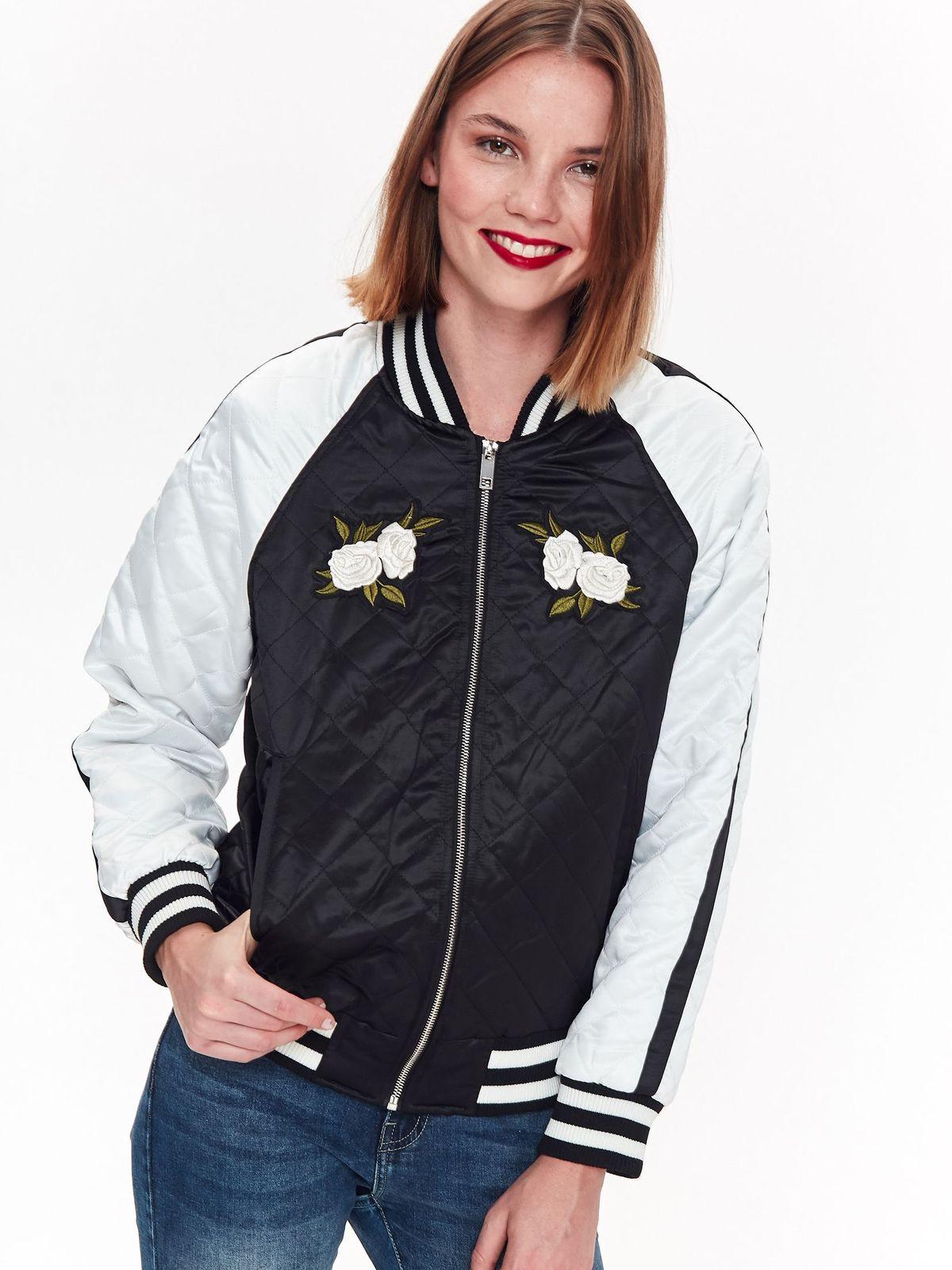 TOP SECRET TOP SECRET bomber jacket με patches