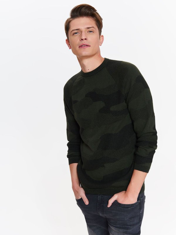 TOP SECRET TOP SECRET ανδρικη camo μπλουζα