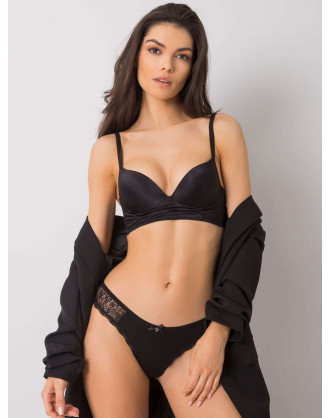 Black underpants with lace