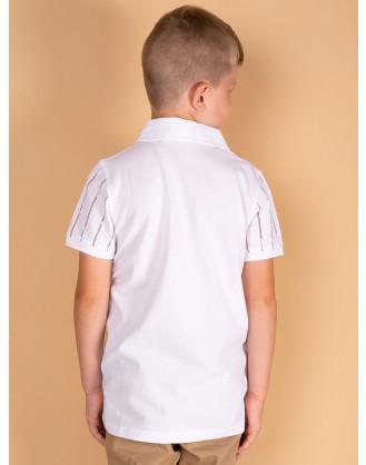 Striped Polo Shirt for Boys
