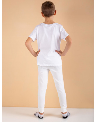 ecru  trousers for boy