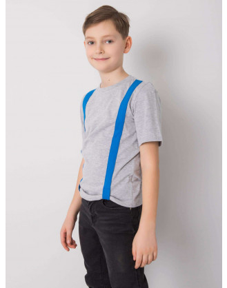 Grey and blue  t-shirt for boys