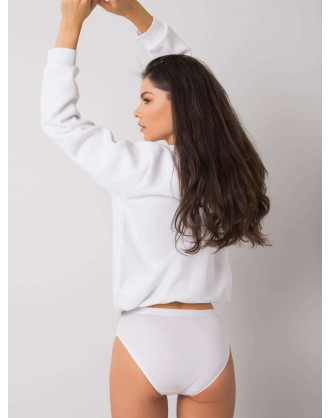 White smooth panties for women