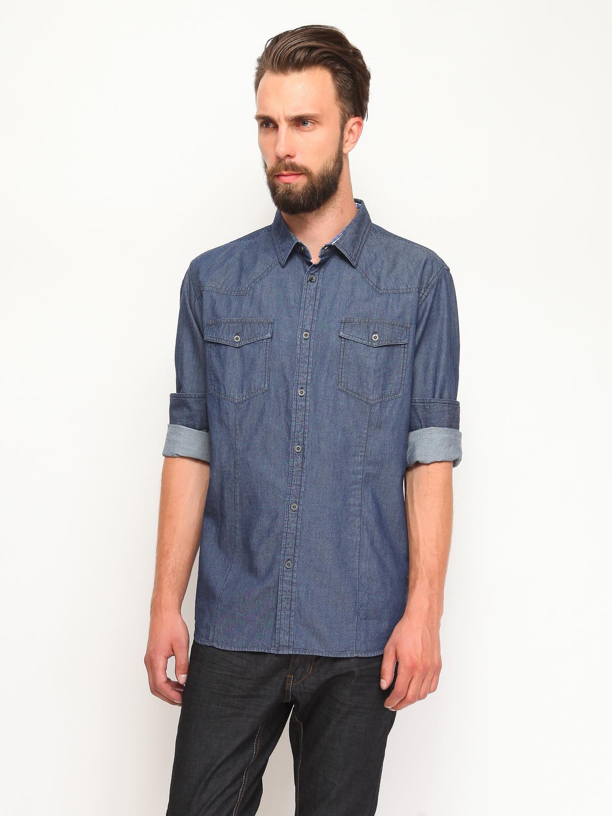 DRYWASH slim fit πουκαμισο