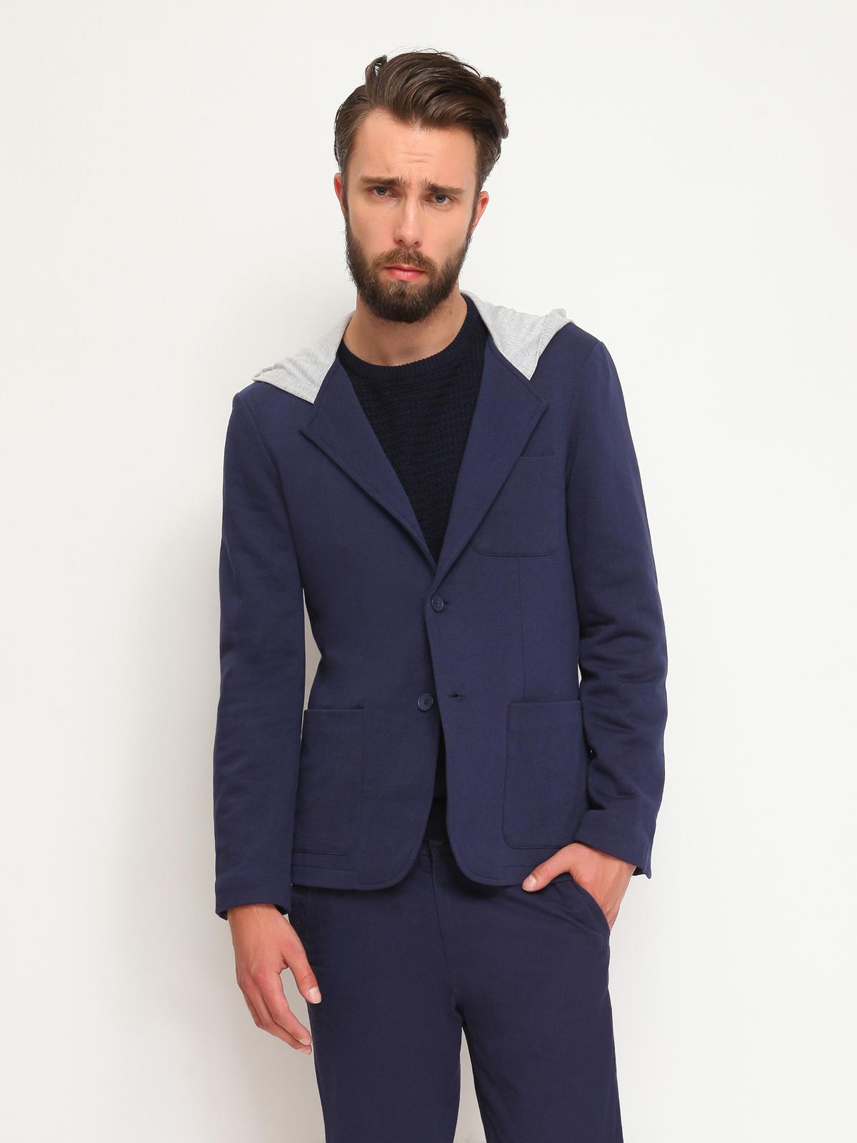 DRYWASH casual σακακι με κουκουλα