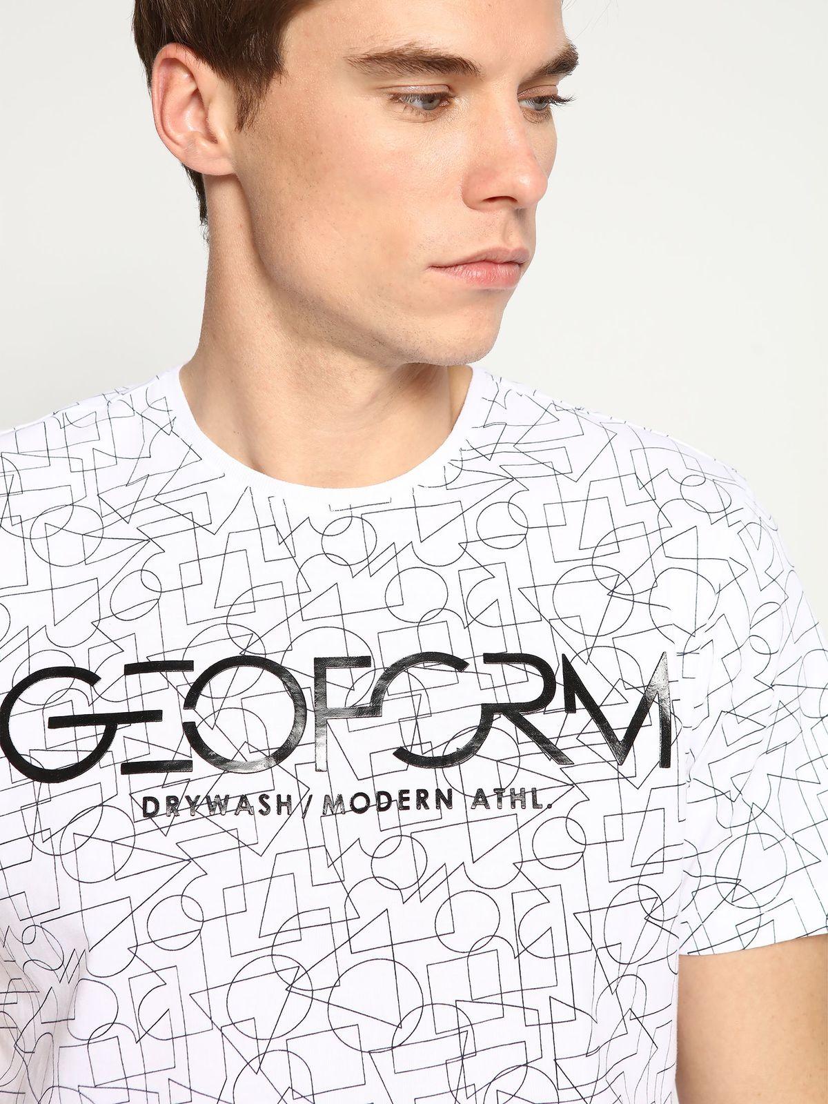 DRYWASH ανδρικο t-shirt με print & logo