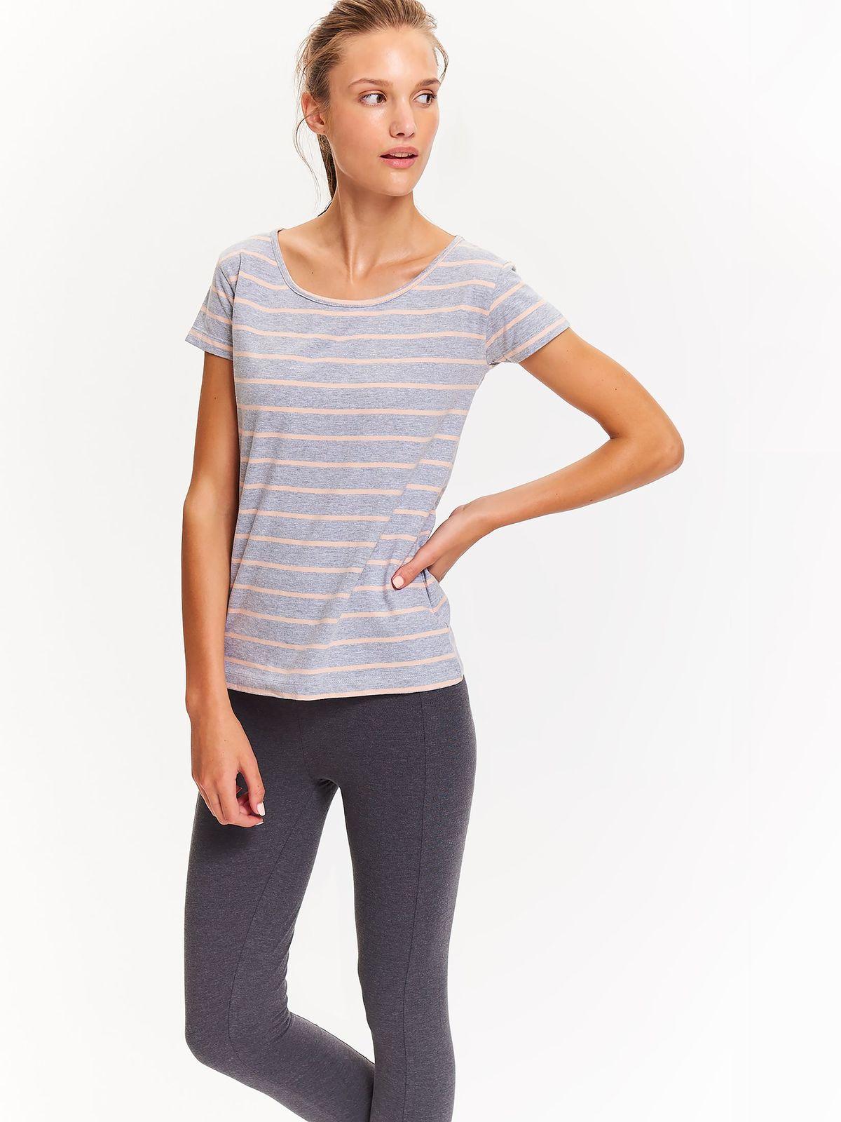 DRYWASH drywash γυναικειο t-shirt με ριγα