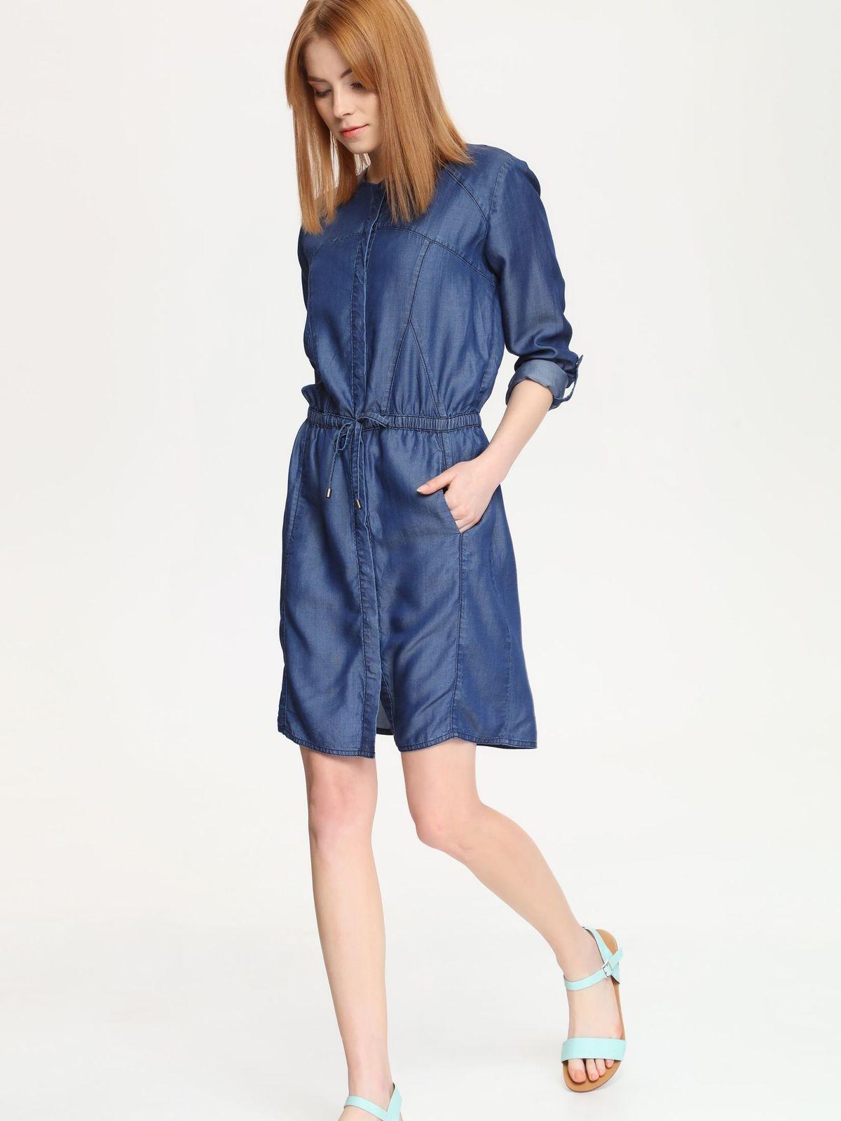 DRYWASH casual τζιν φορεμα