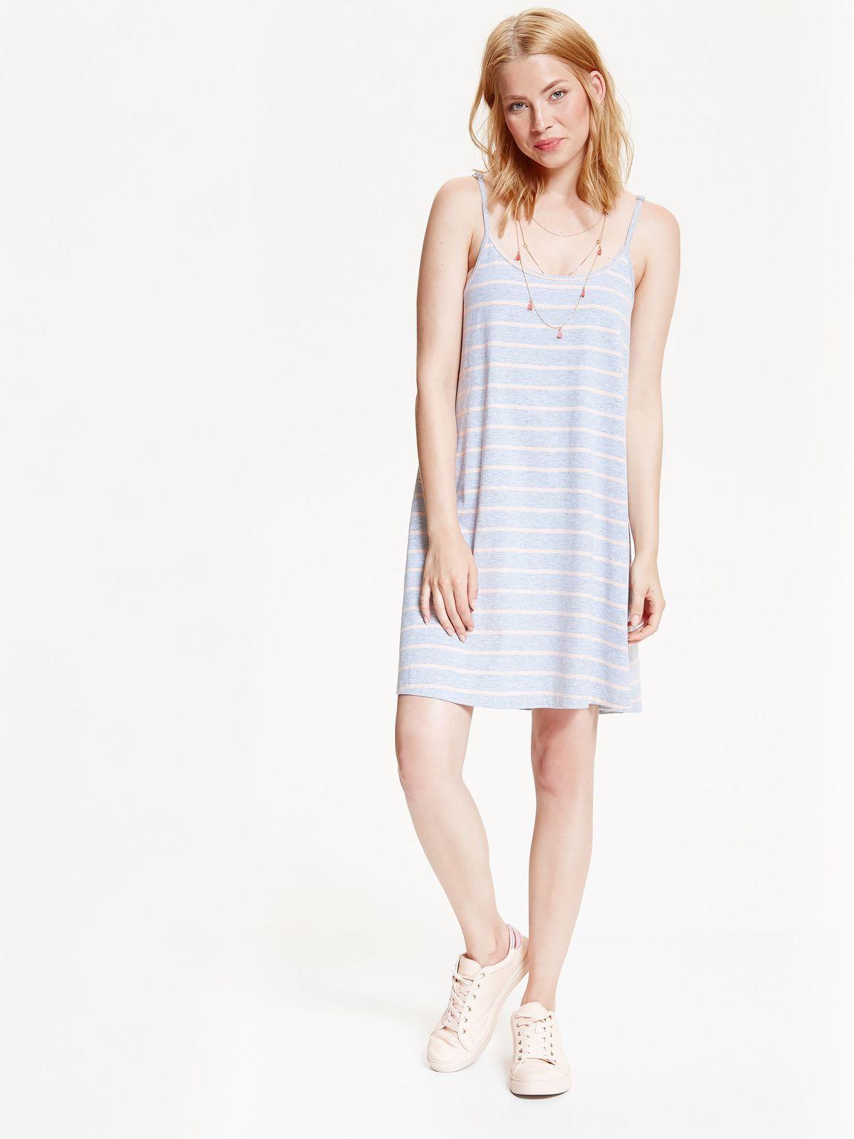 drywash γυναικειο φορεμα με ριγα - 159798