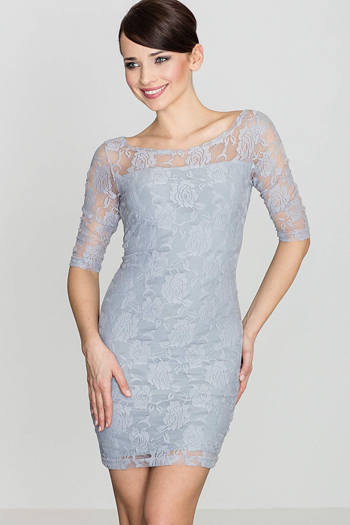 KATRUS Θηλυκο φορεμα δαντελα