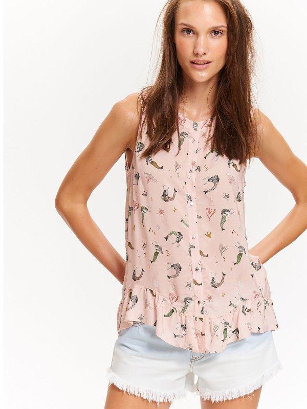 TOP SECRET TOP SECRET πουκαμισο με summer print