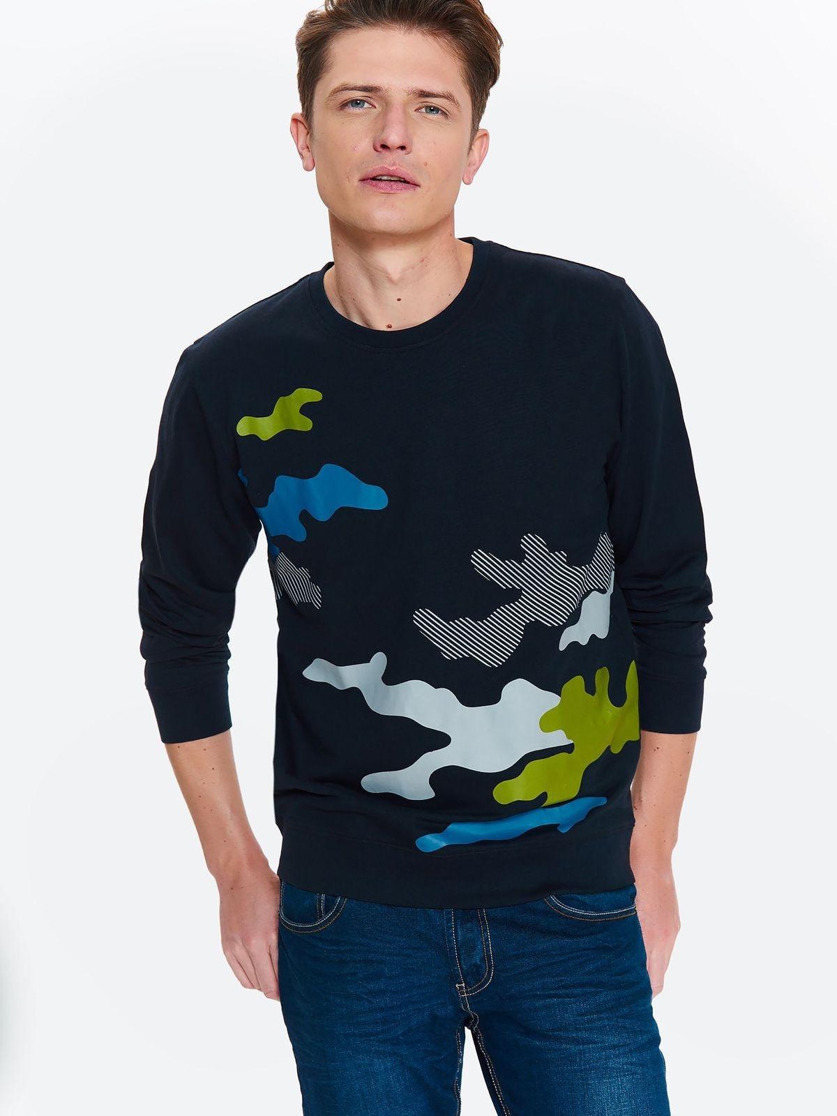 TOP SECRET TOP SECRET μπλουζα με camo print