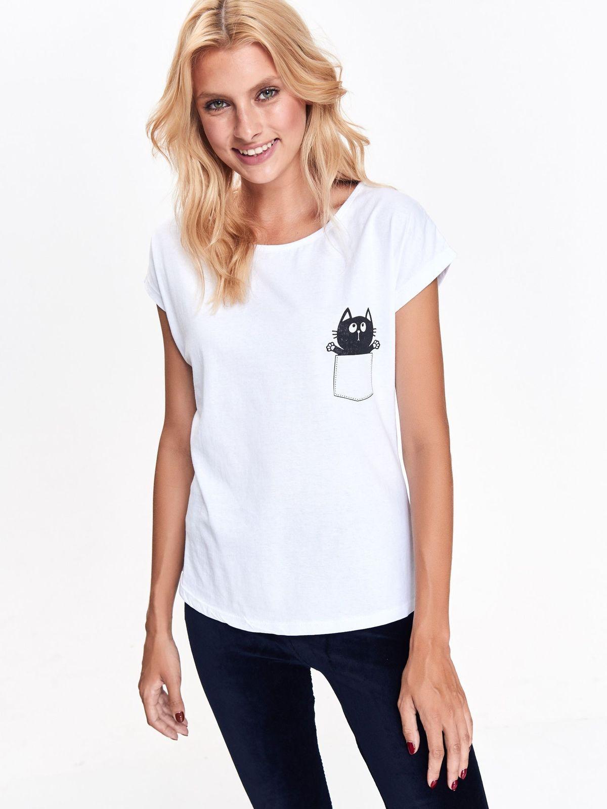 TROLL γυναικειο t-shirt με print