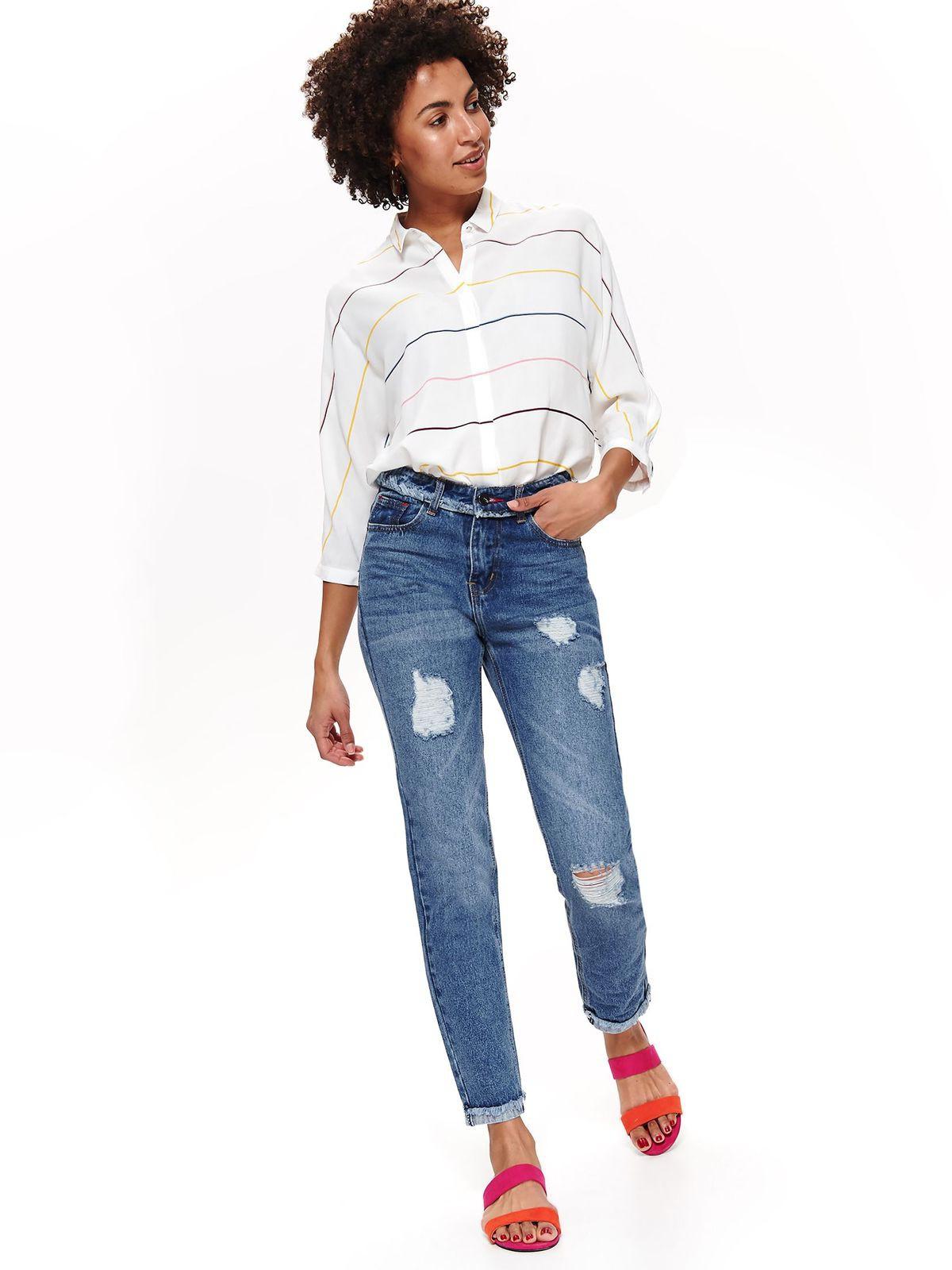 top secret γυναικειο jean παντελονι