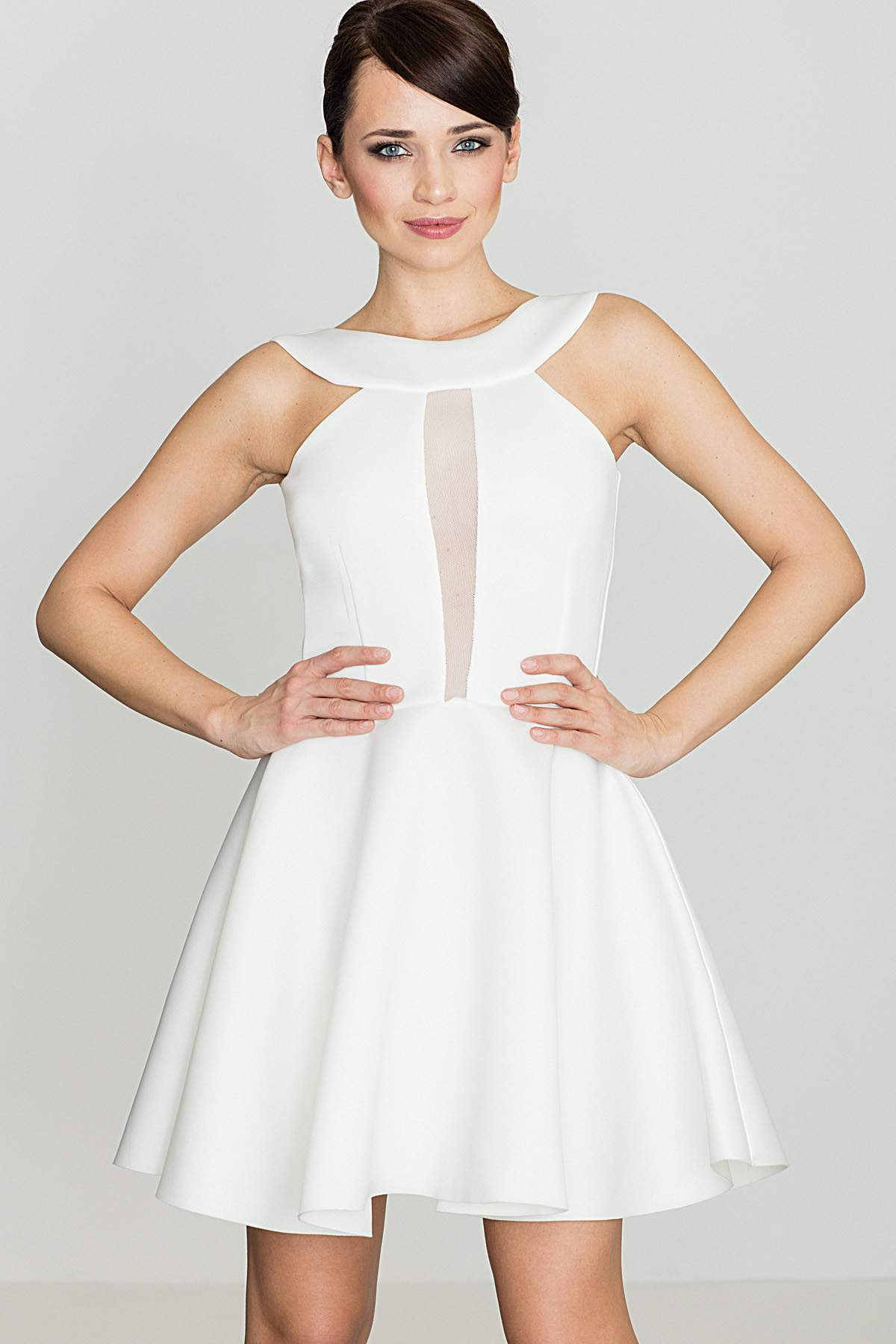 KATRUS cocktail κλος φορεμα με διαφανεια