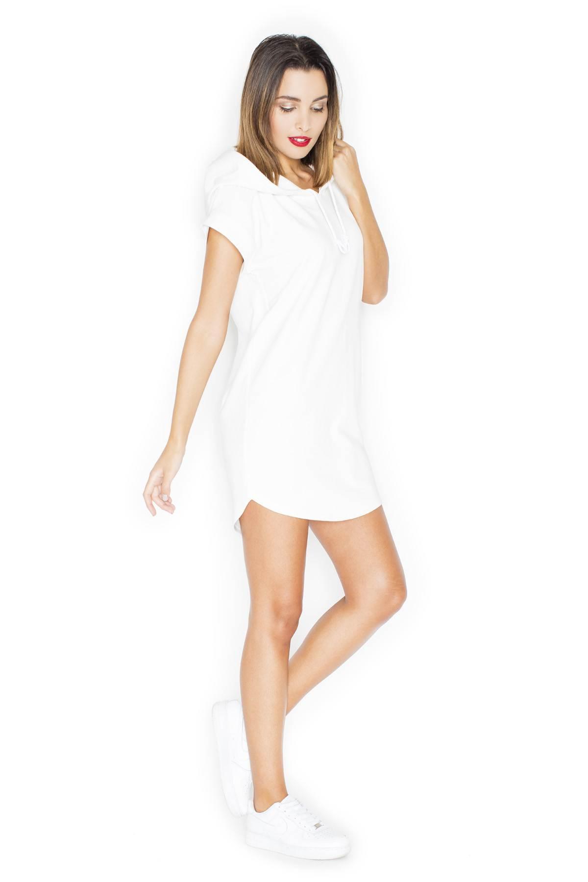 KATRUS casual φορεμα με κουκουλα