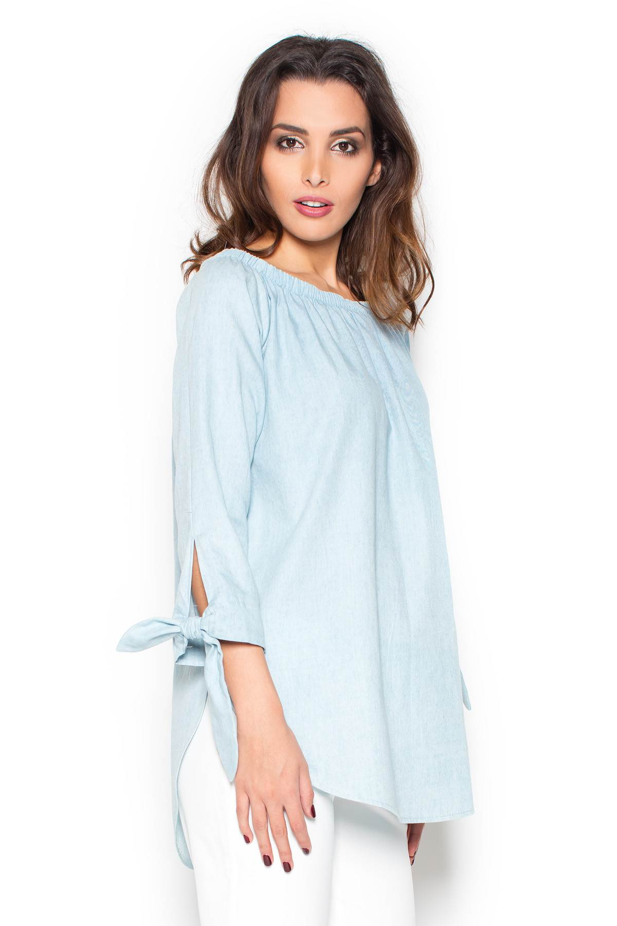 KATRUS γυναικεια τζιν μπλουζα