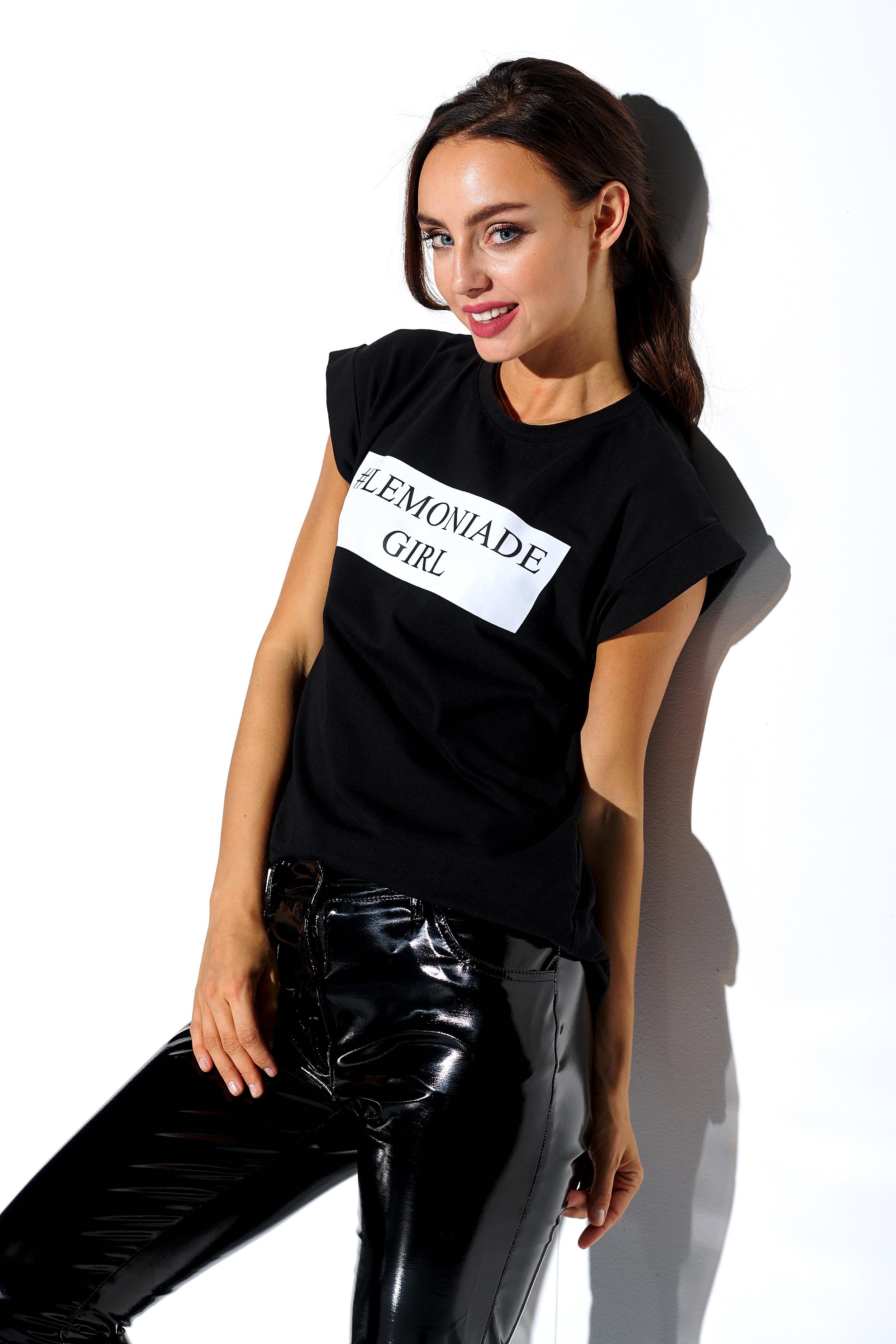 ΜΑΥΡΟ ΓΥΝΑΙΚΕΙΟ T-Shirt - 395201