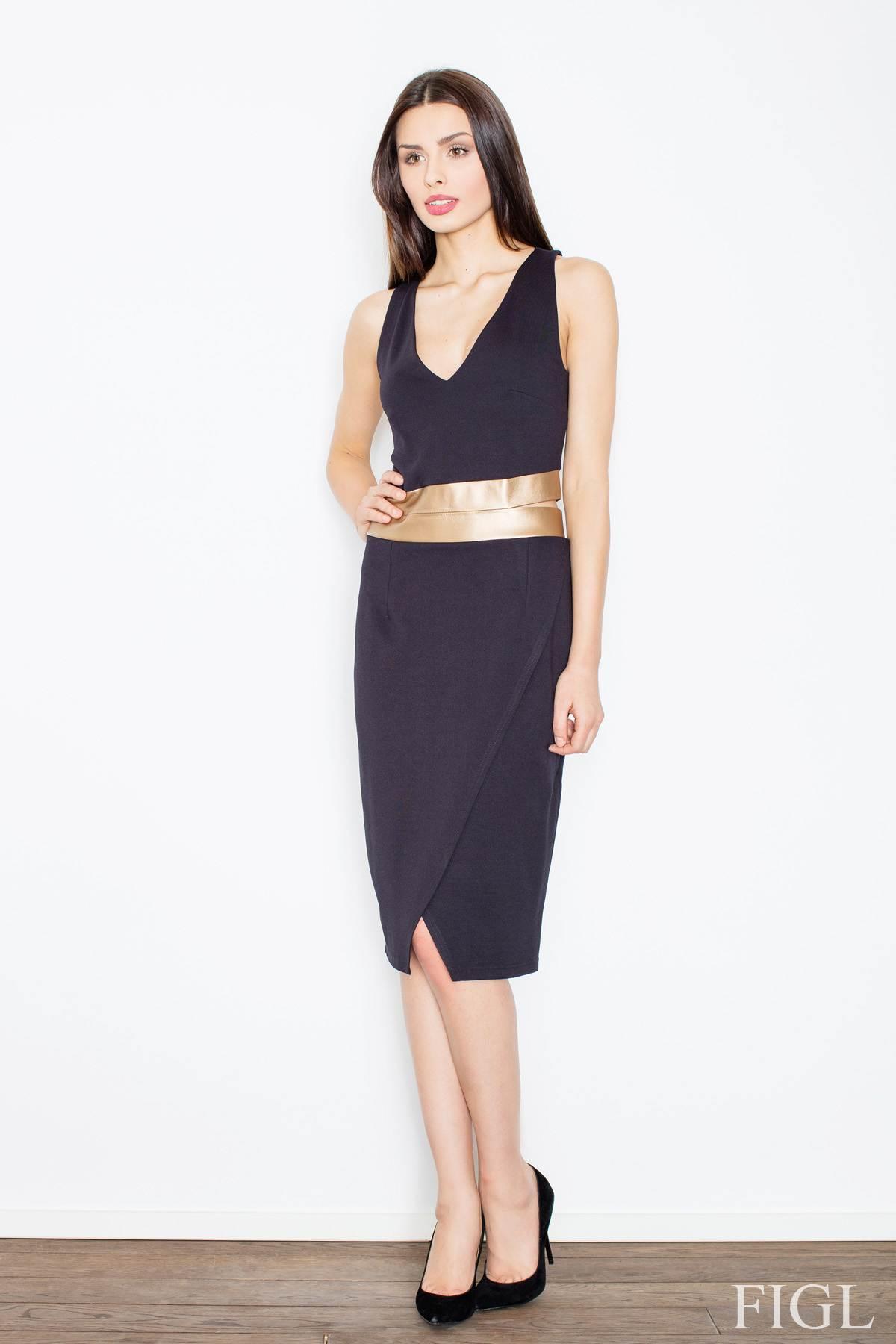 FIGL φορεμα με χρυσες λεπτομερειες 6e5f7a2be42