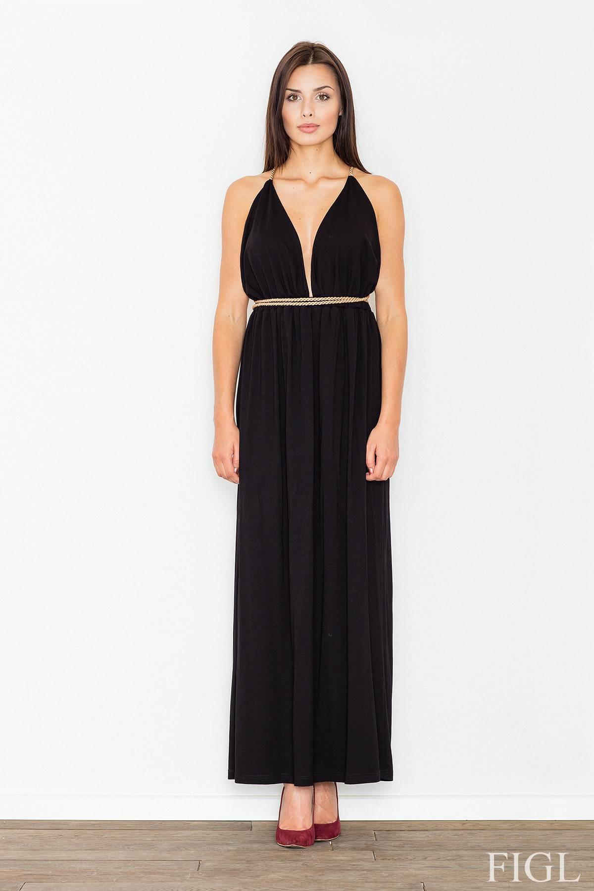FIGL sexy maxi εξωπλατο φορεμα