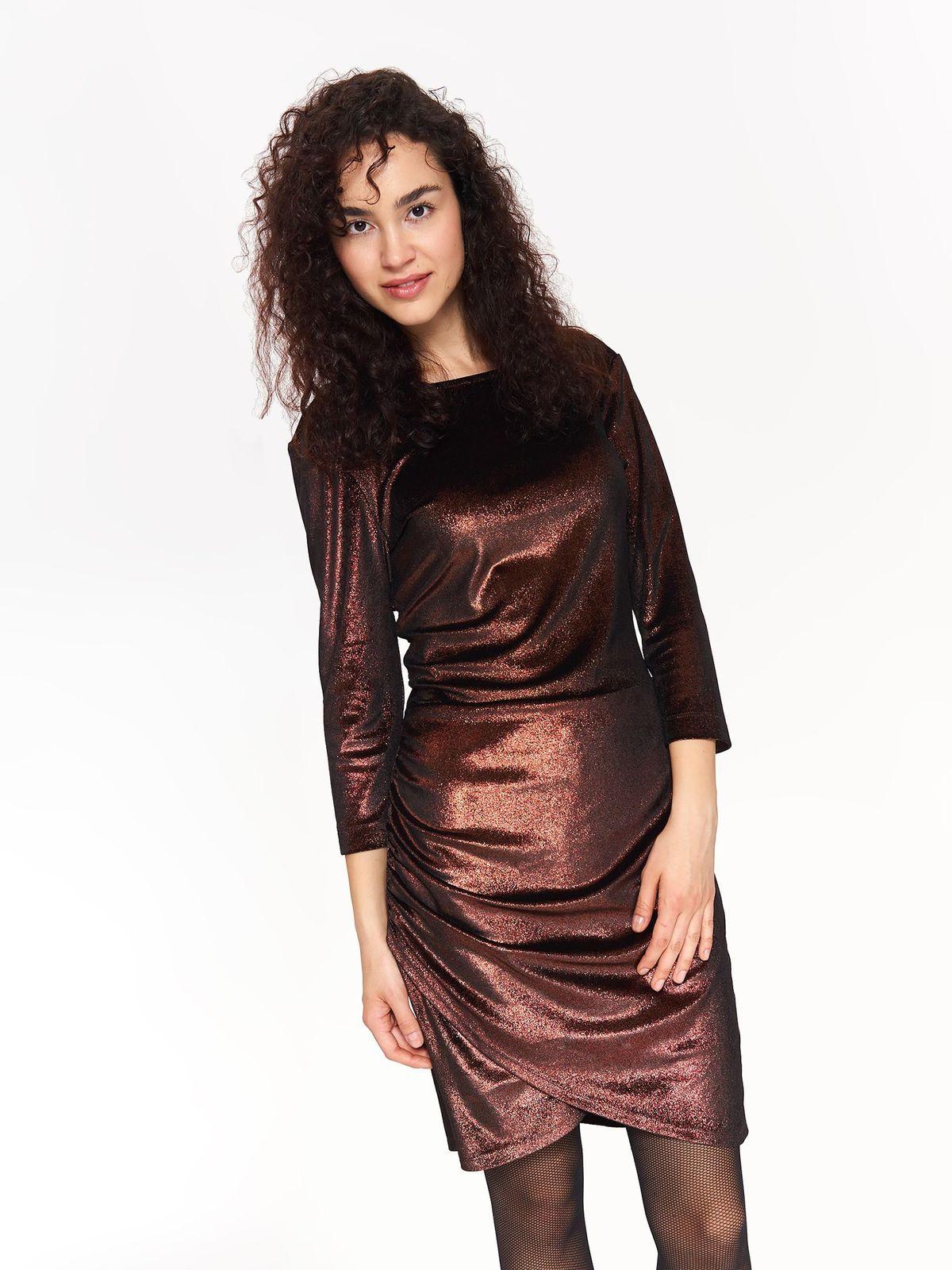 9d652fc08bec TOP SECRET top secret βραδινο μεταλιζε φορεμα