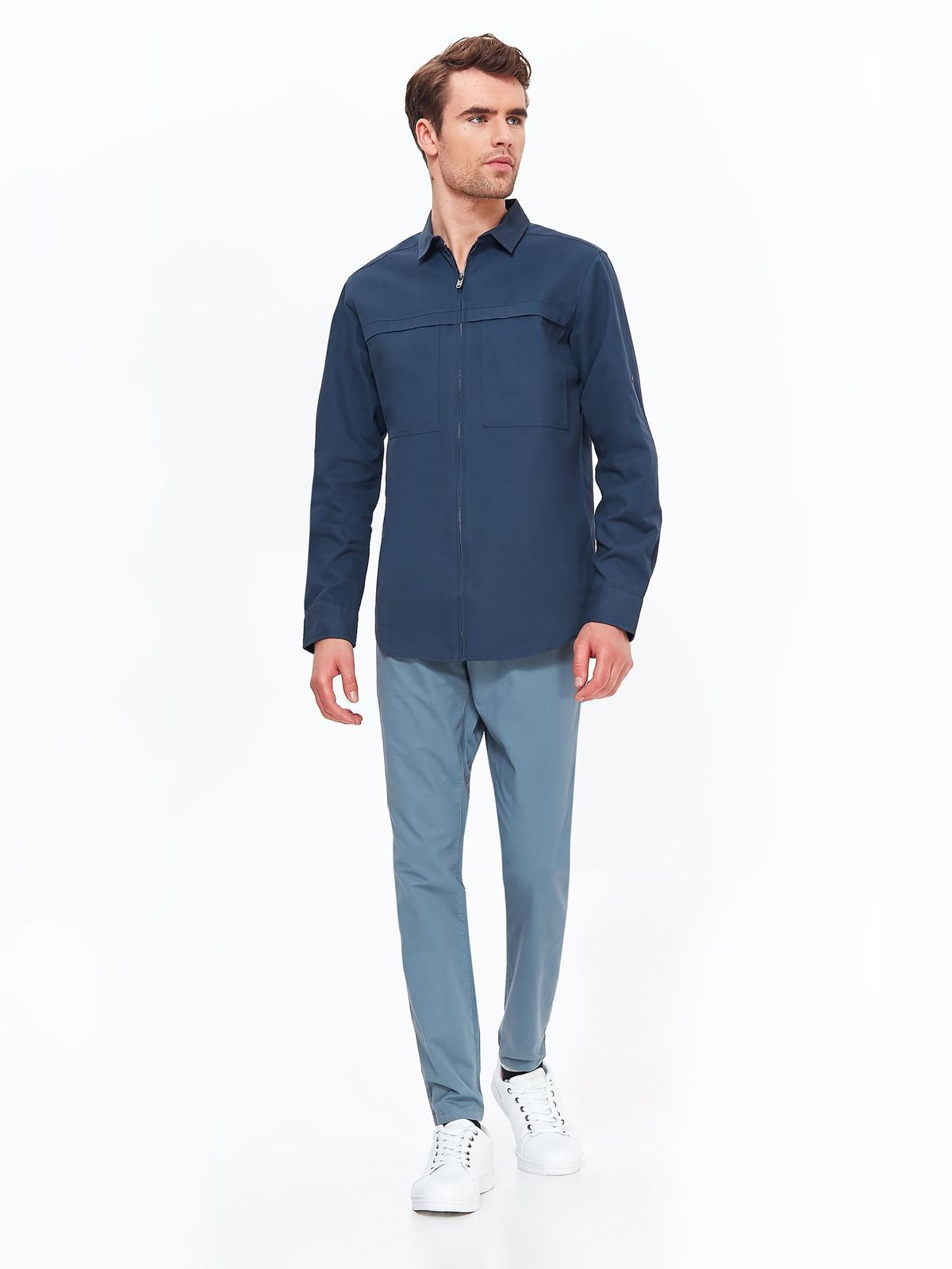 TOP SECRET TOP SECRET ζακετα στυλ πουκαμισο