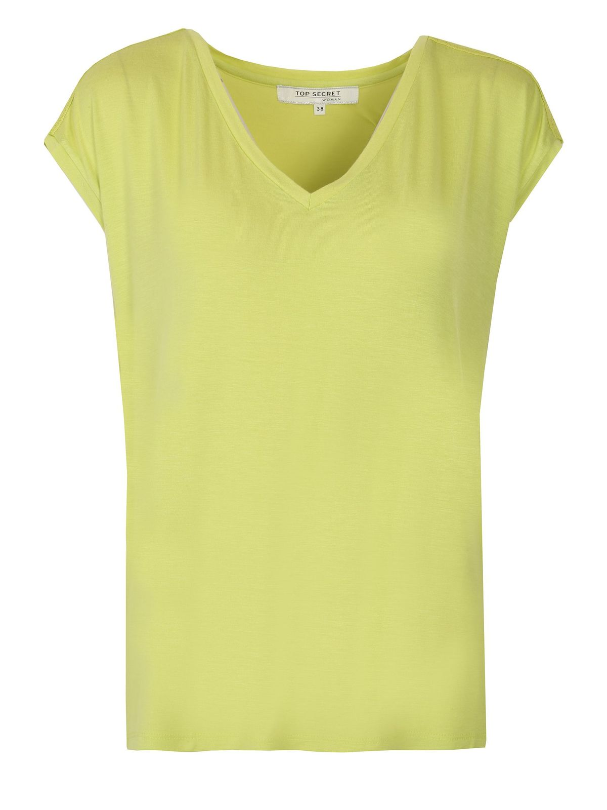 LIME T-SHIRT ΜΕ ΔΑΝΤΕΛΑ - 331570