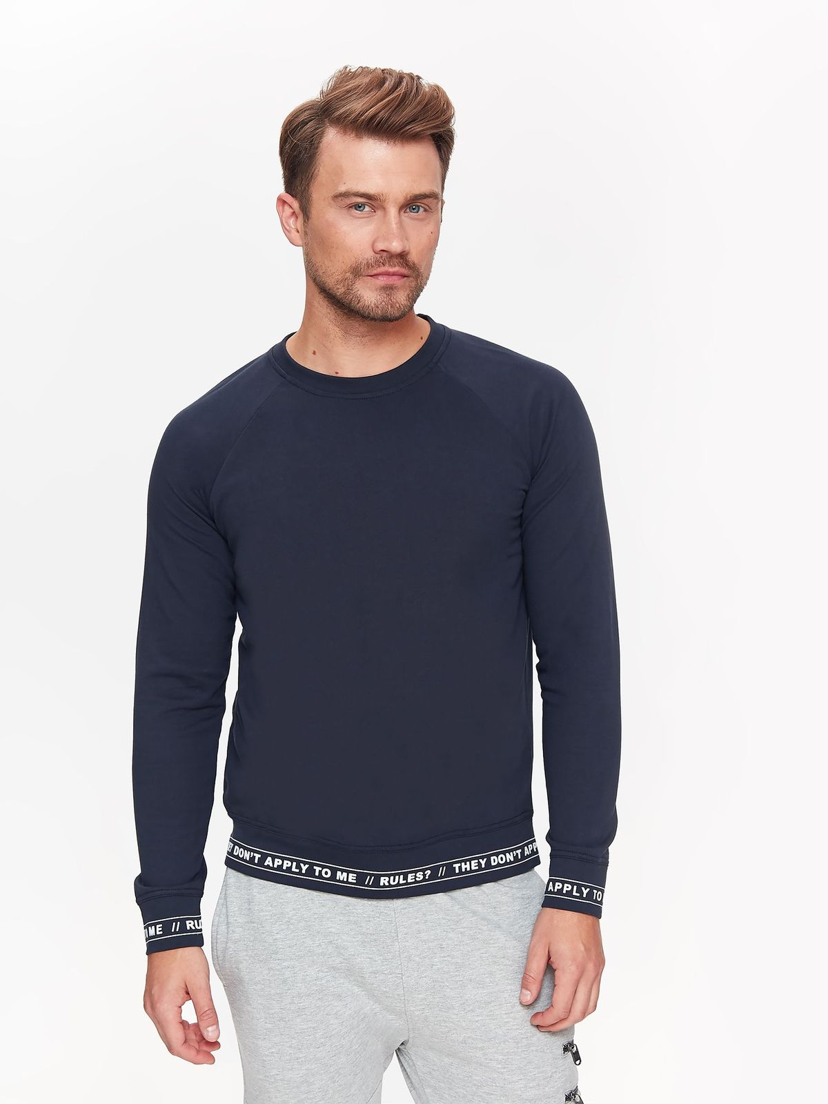 TOP SECRET top secret ανδρικη φουτερ μπλουζα