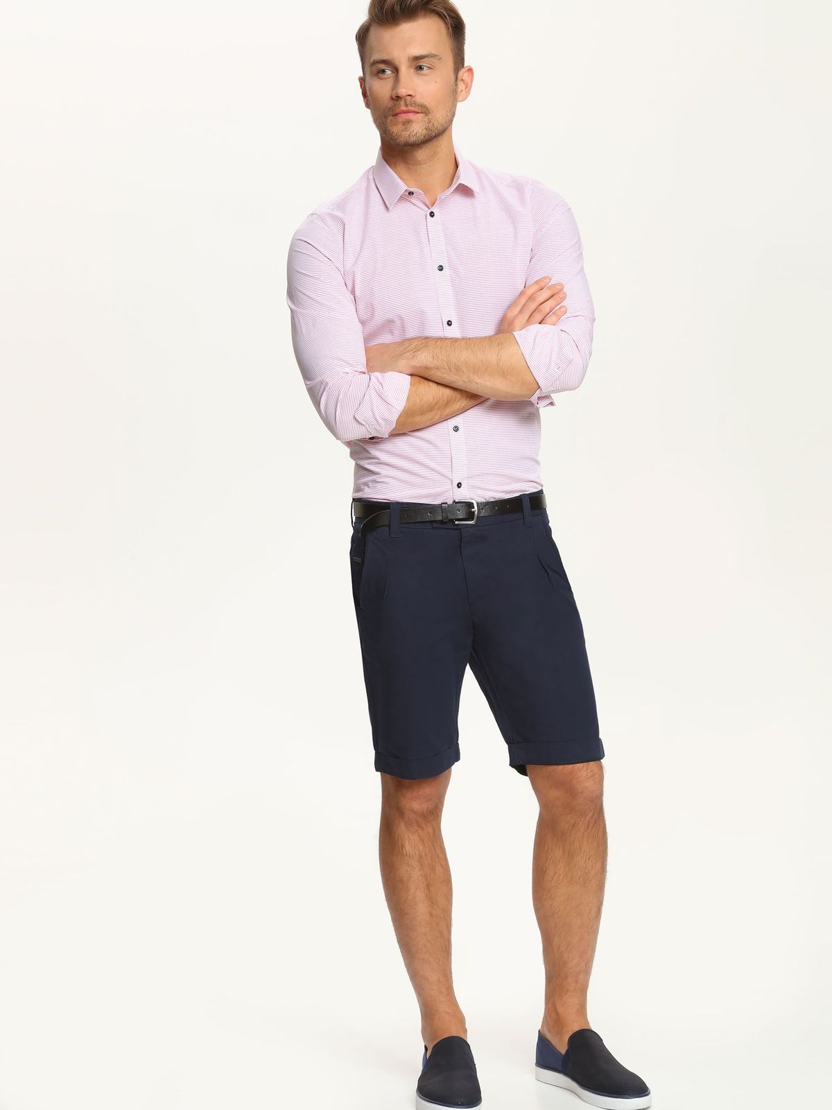 TOP SECRET ανδρικο πουκαμισο με ριγα