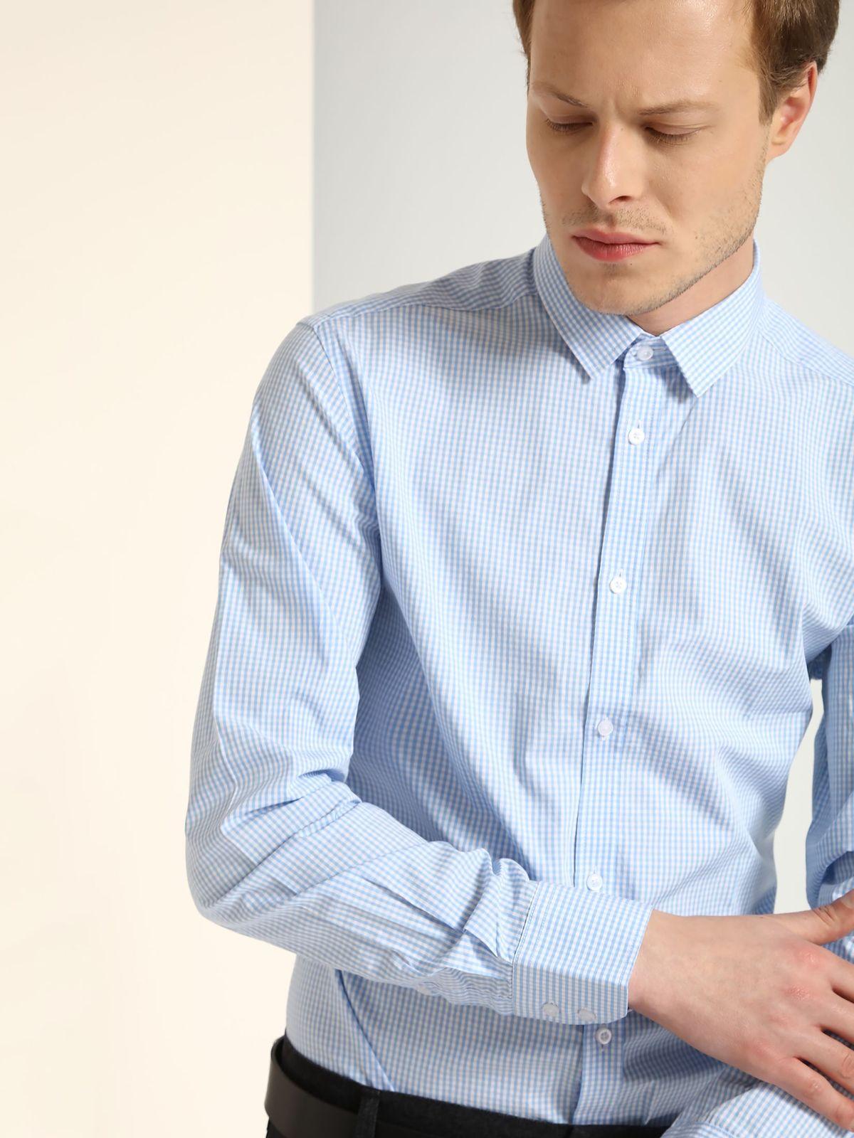 TOP SECRET top secret καρο πουκαμισο