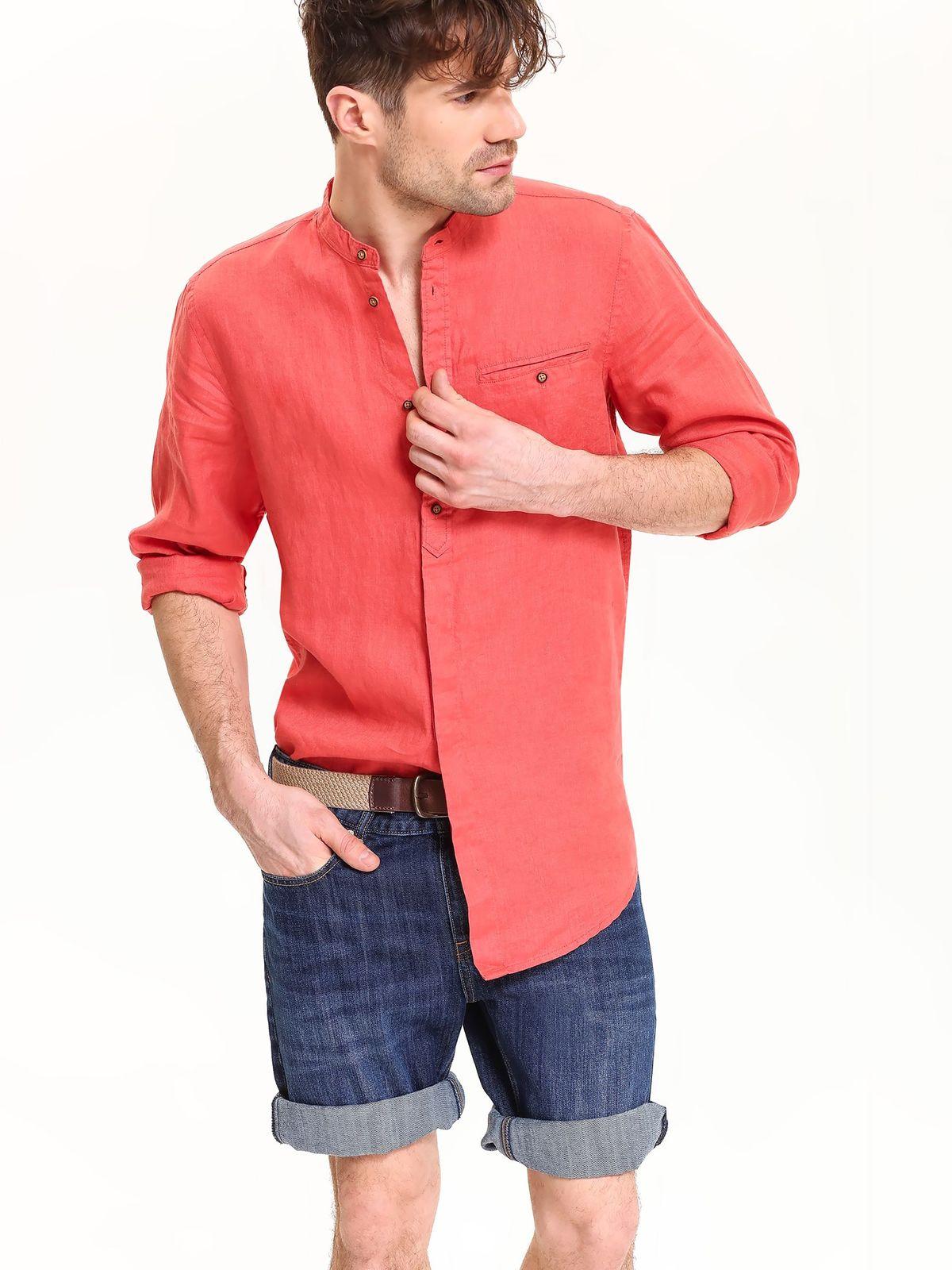 TOP SECRET top secret λινο πουκαμισο