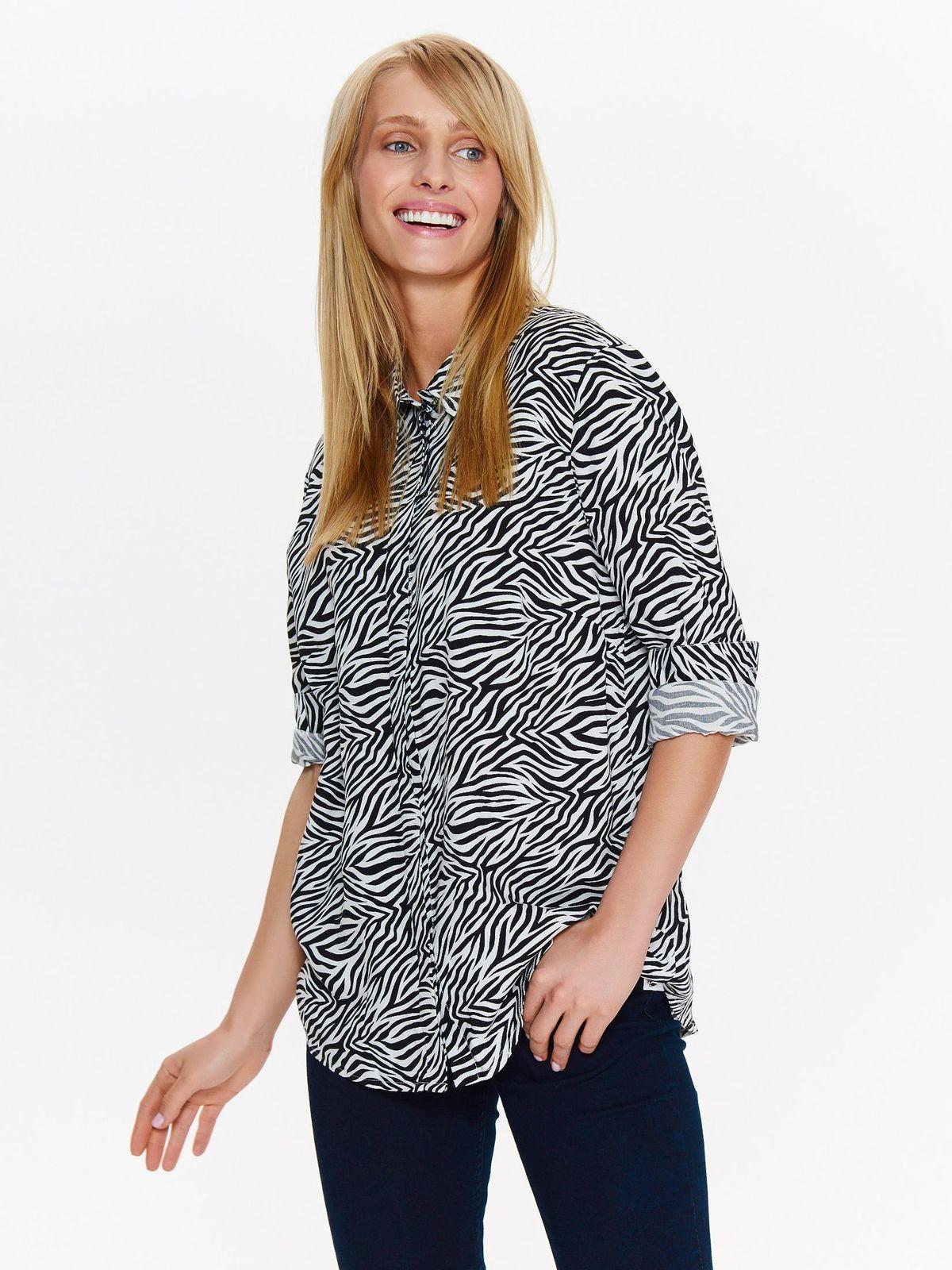 TOP SECRET top secret πουκαμισο με animal print