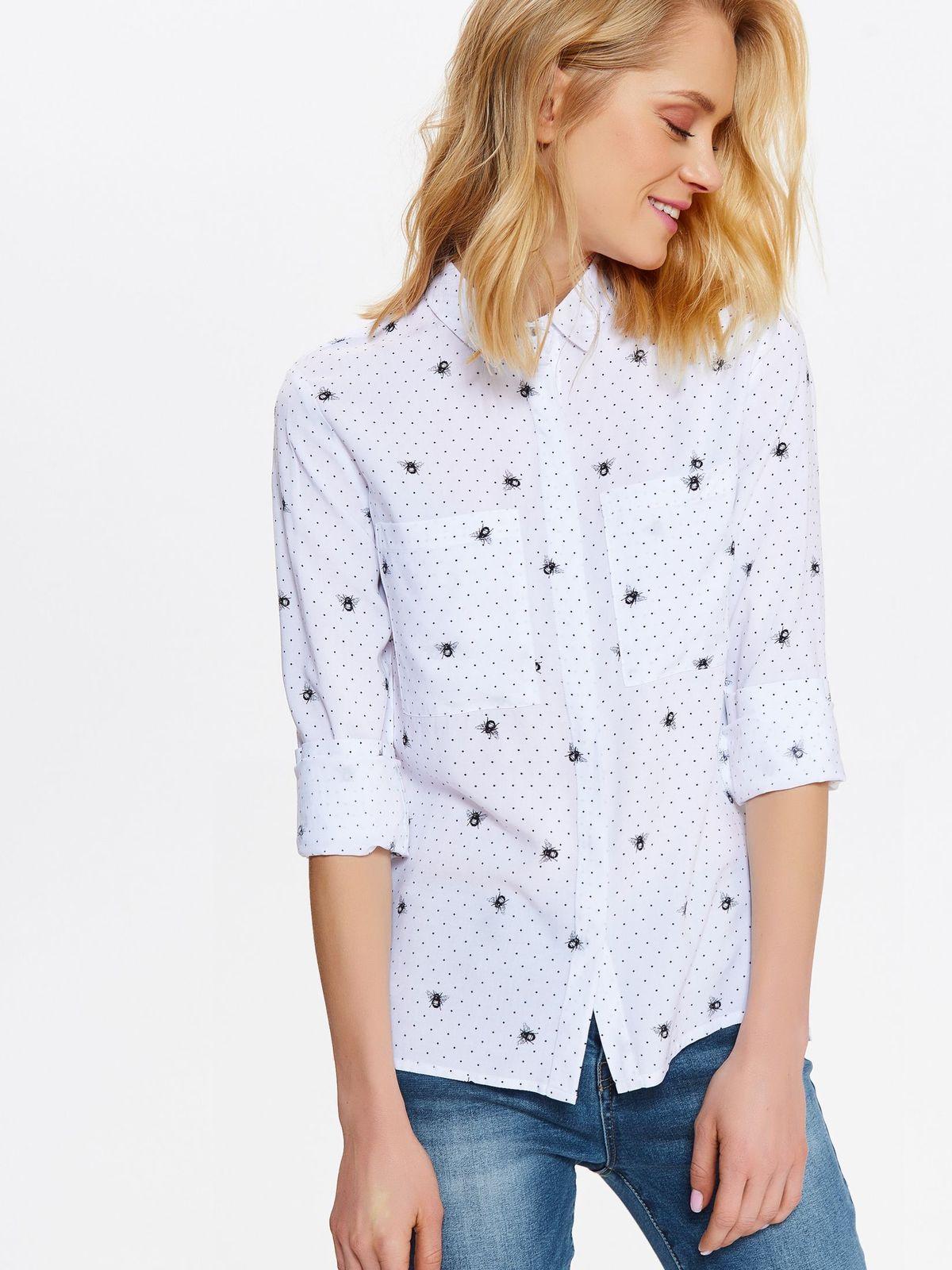TOP SECRET Τot secret πουκαμισο πουα με print