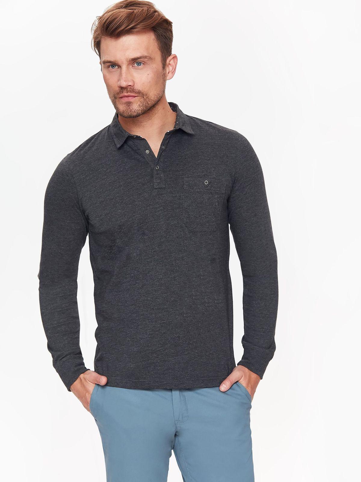 TOP SECRET ανδρικη μπλουζα τυπου polo