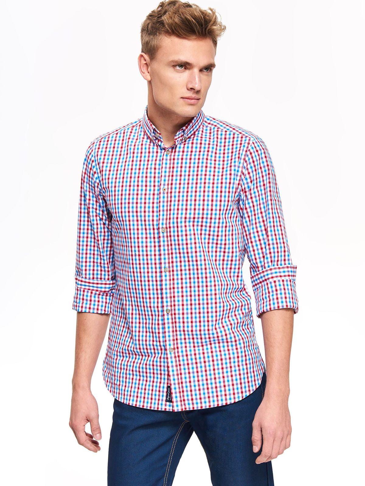 38b9f14b792e TOP SECRET TOP SECRET ανδρικο καρο πουκαμισο