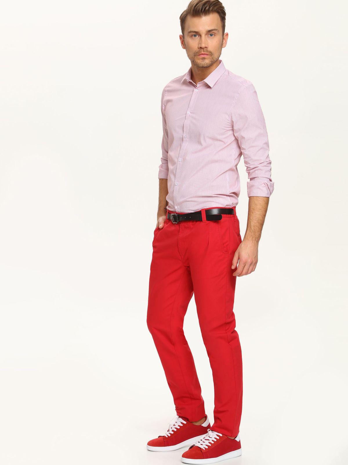 TOP SECRET ανδρικο slim fit πουκαμισο