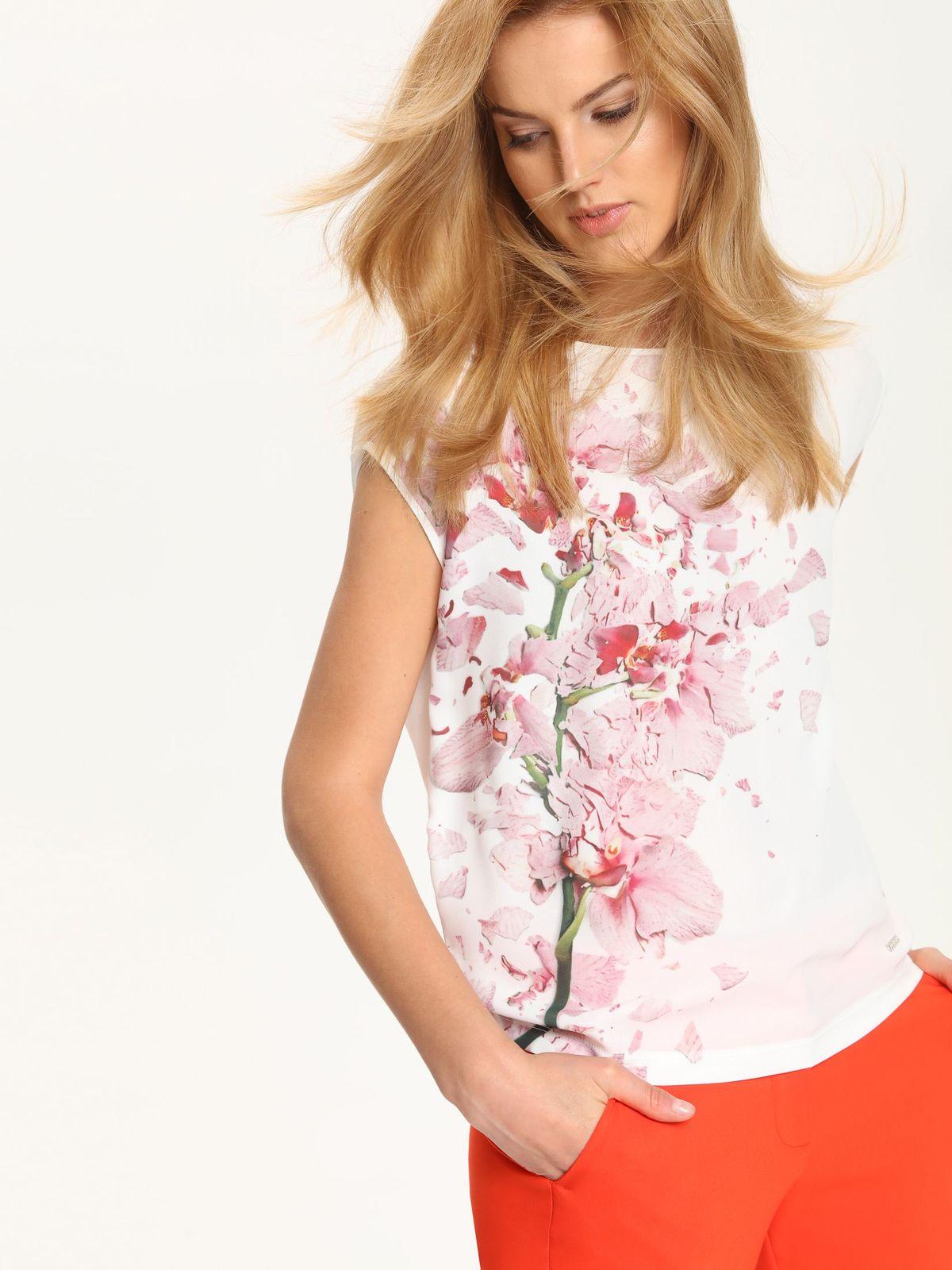 TOP SECRET γυναικειο φλοραλ t-shirt