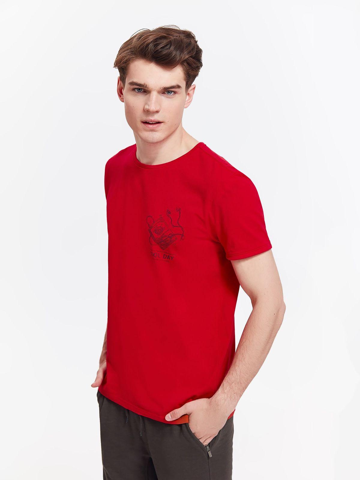 TOP SECRET top secret ανδρικο t-shirt με print
