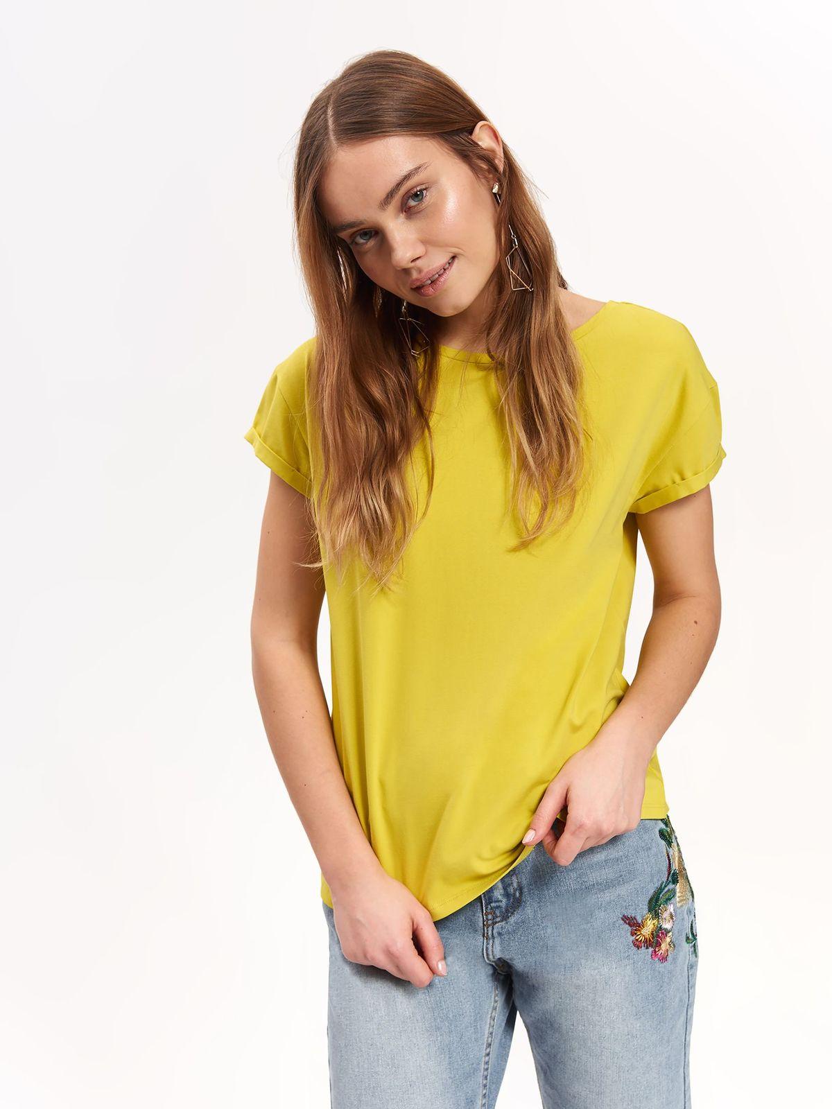 6f9cb78b13ee TOP SECRET γυναικειο t-shirt με χιαστη πλατη