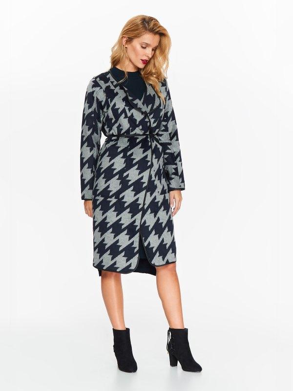 TOP SECRET top secret παλτο με print