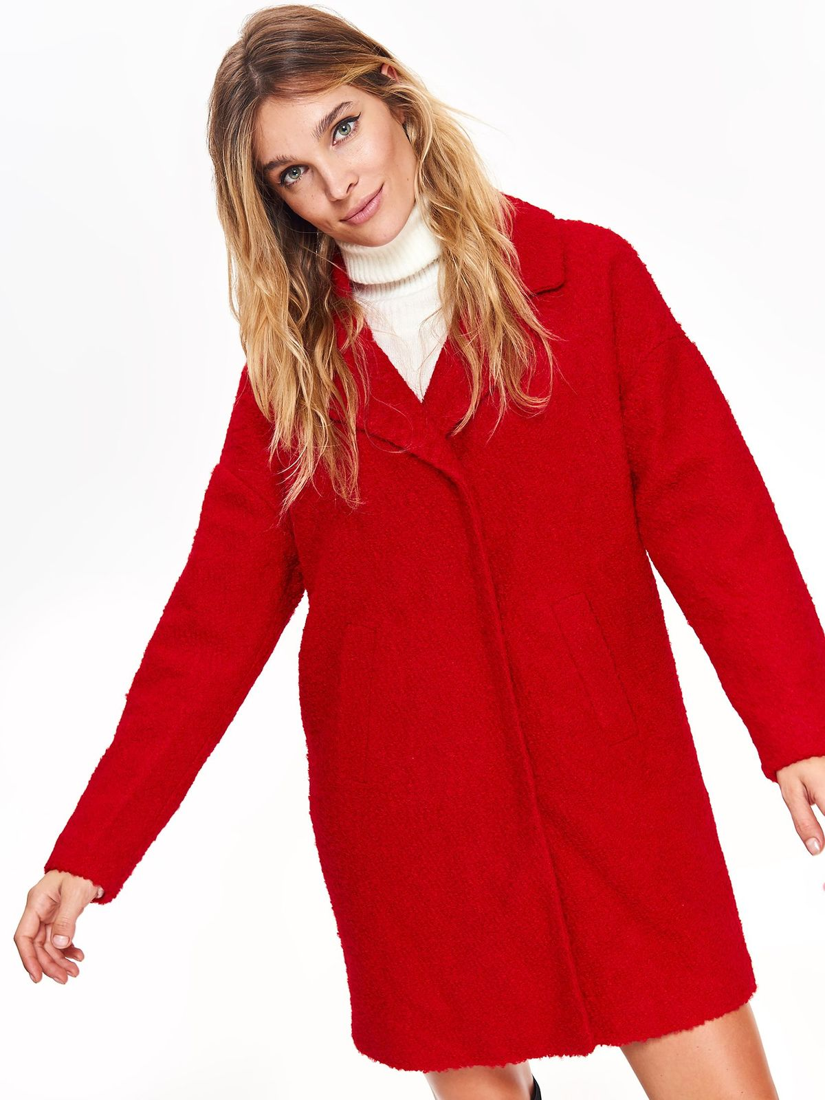 TOP SECRET top secret γυναικειο loose παλτο