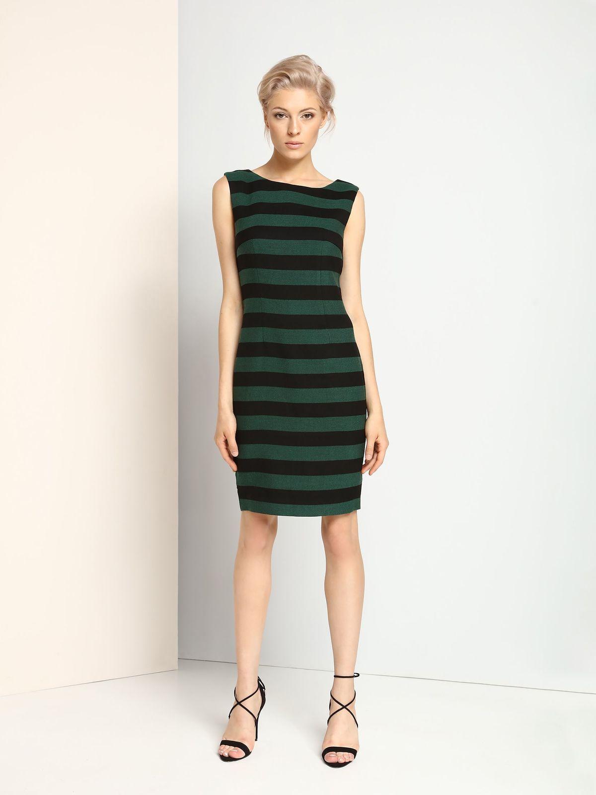 TOP SECRET γυναικειο φορεμα με ριγα