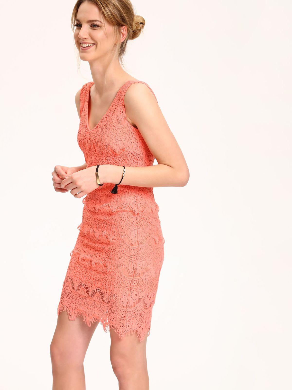 TOP SECRET top secret φορεμα με δαντελα