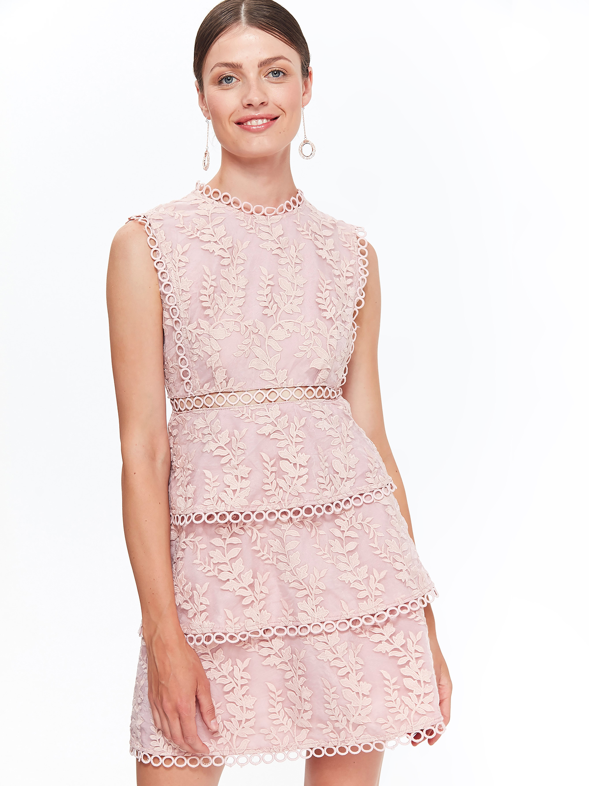 TOP SECRET TOP SECRET κομψο φορεμα με δαντελα