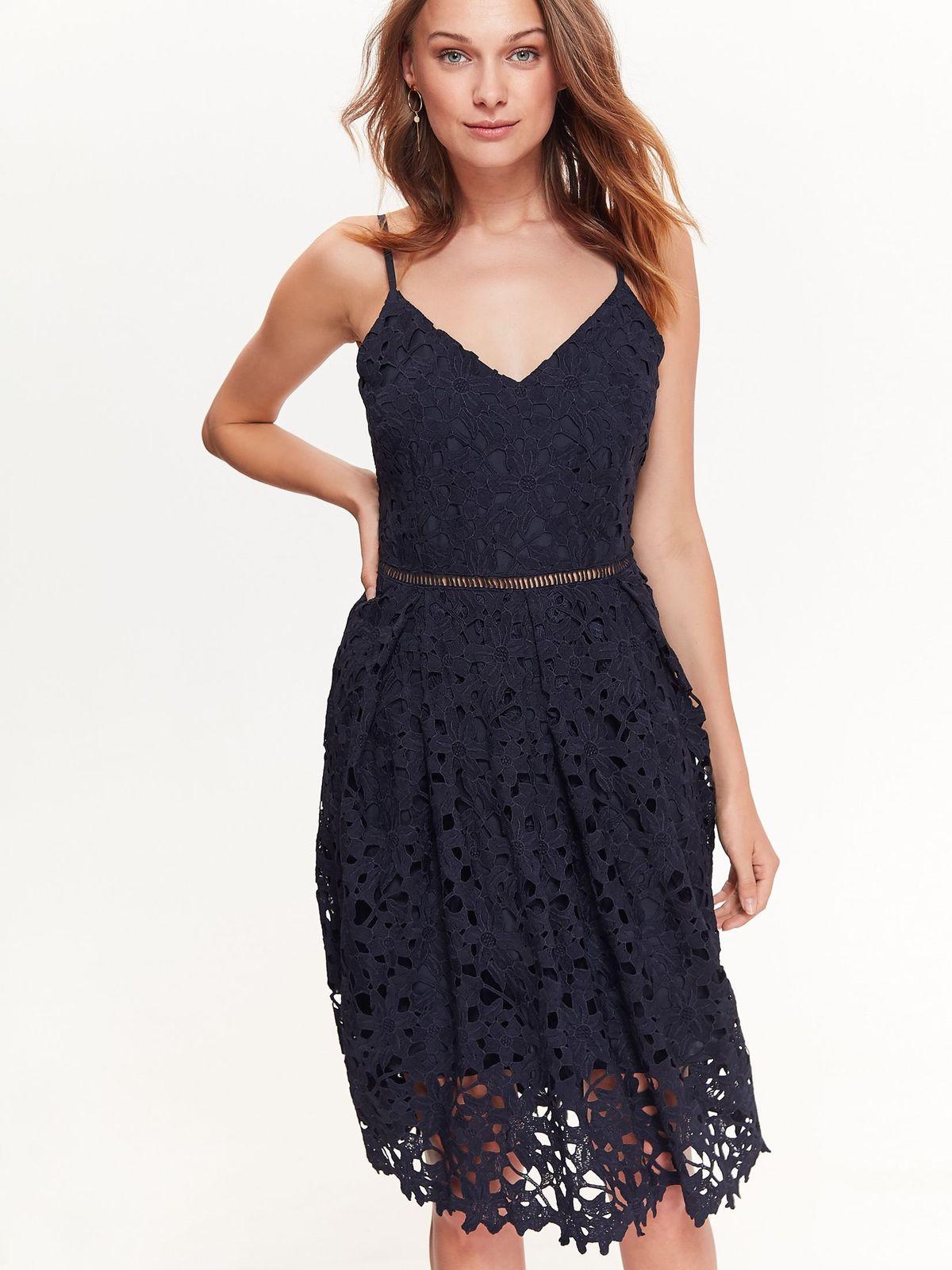 TOP SECRET TOP SECRET βραδινο φορεμα δαντελα