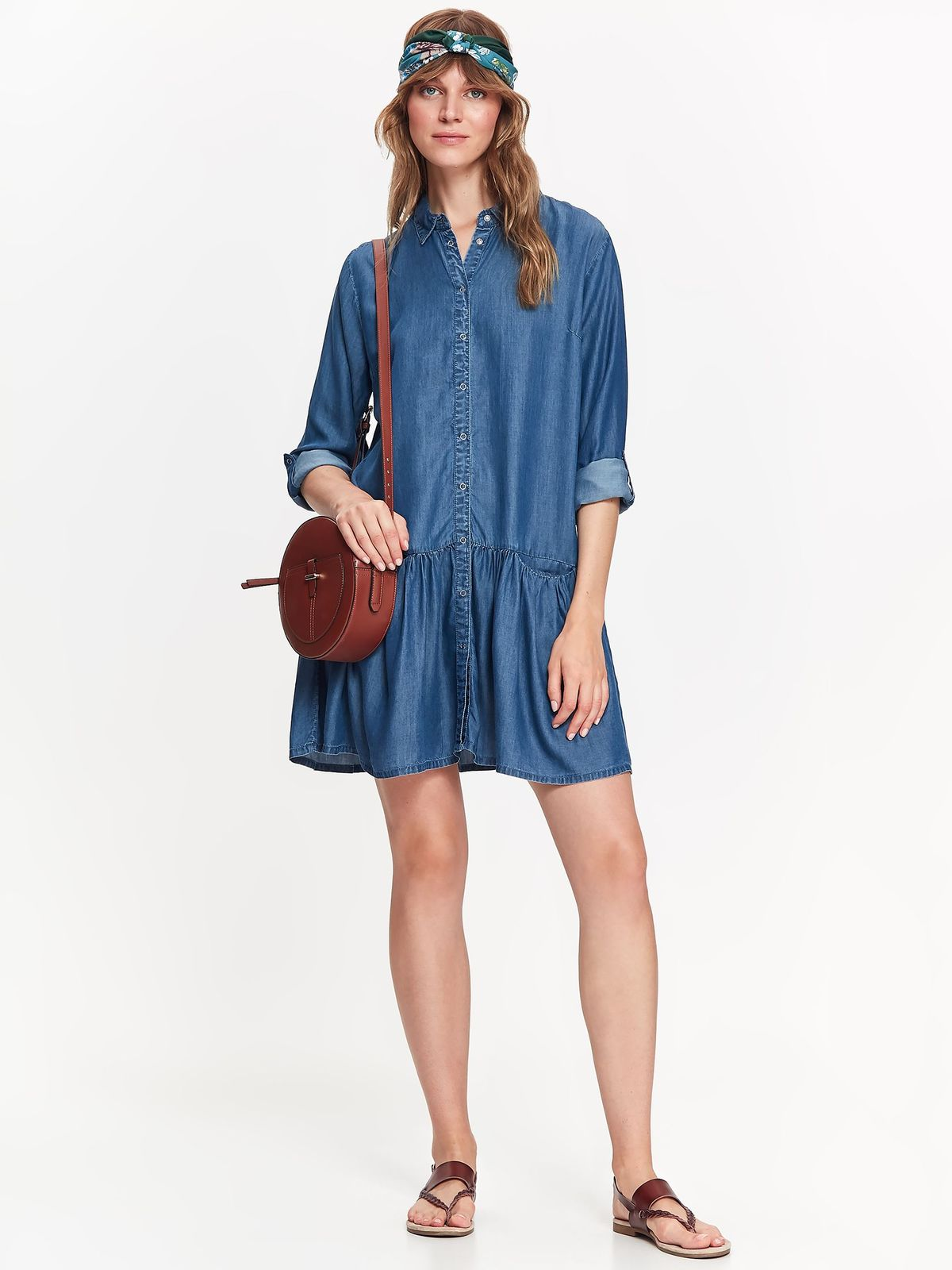 TOP SECRET TOP SECRET φορεμα soft denim