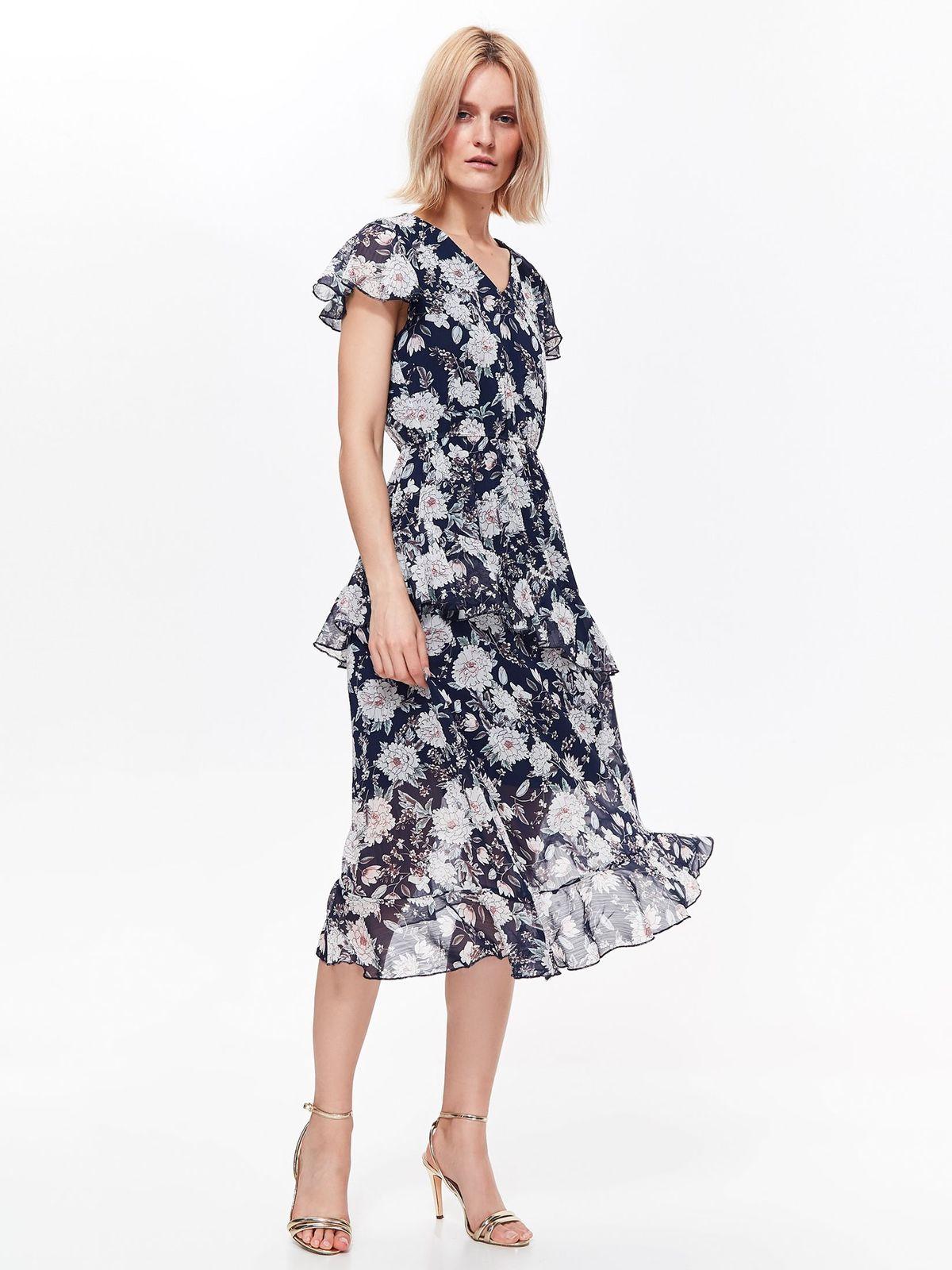TOP SECRET top secret midi φλοραλ φορεμα 7bf90203d8a