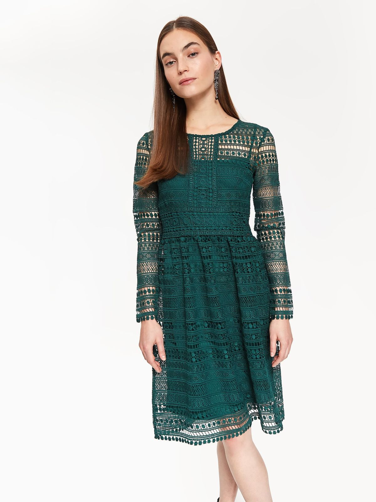 TOP SECRET top secret midi φορεμα δαντελα add935e7f2c