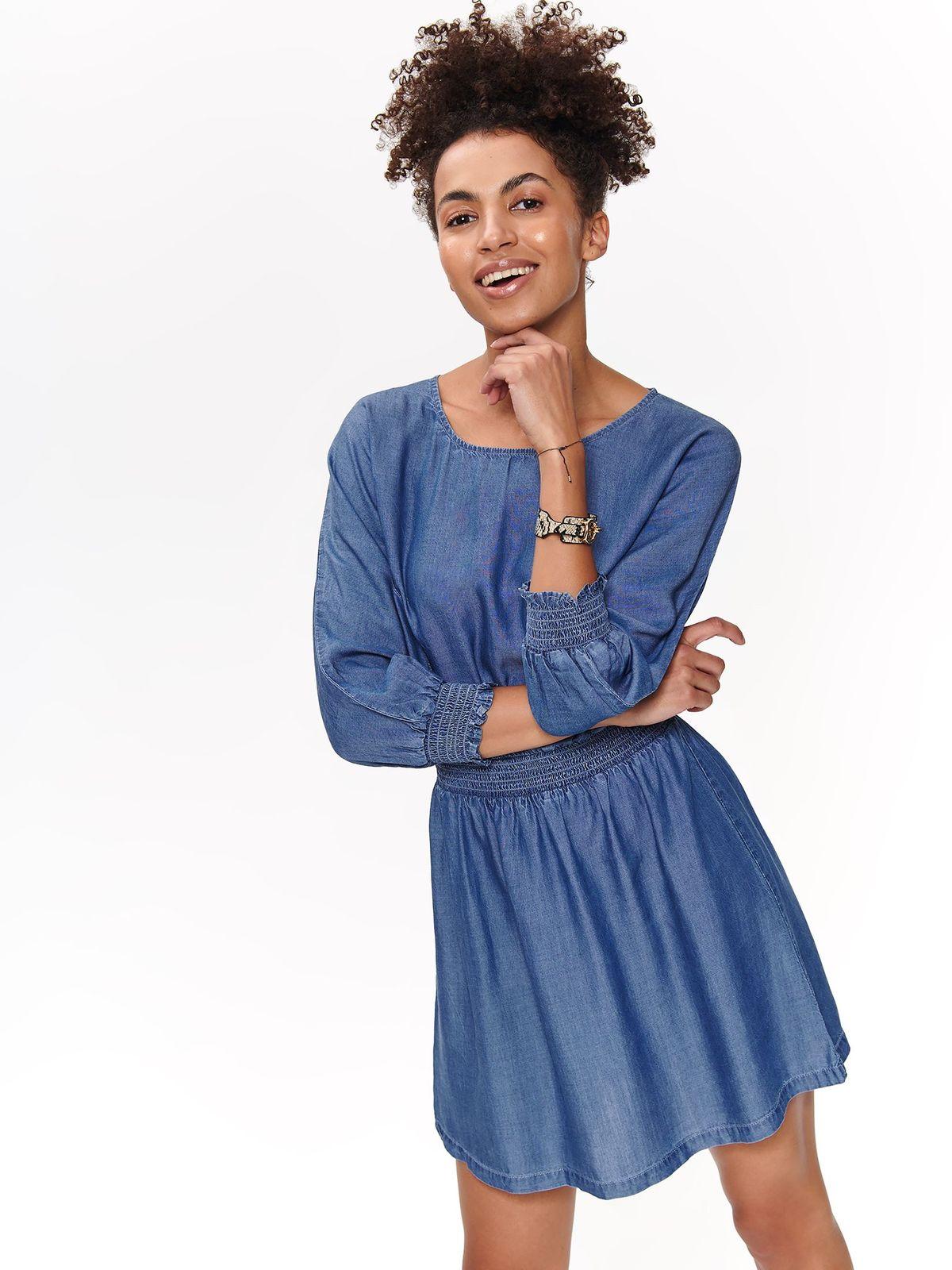 TOP SECRET top secret mini φορεμα soft denim