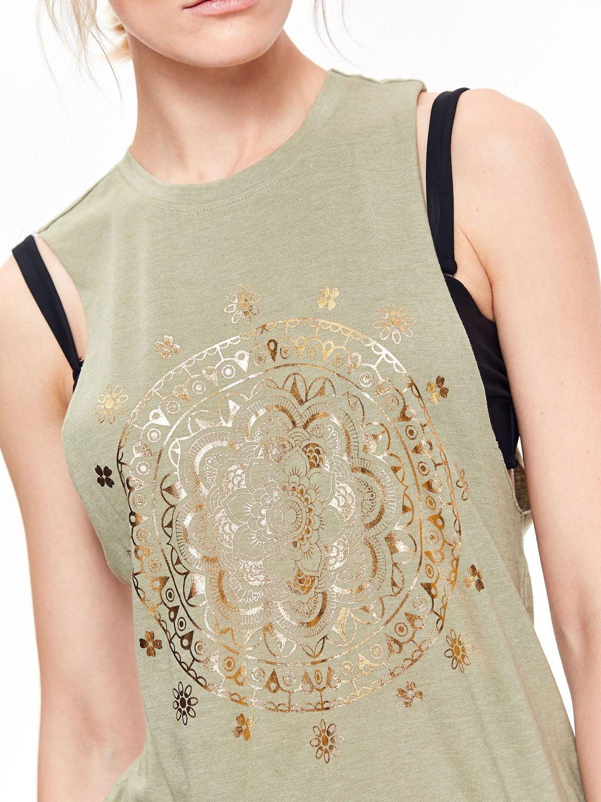 TOP SECRET top secret αμανικο t-shirt με print